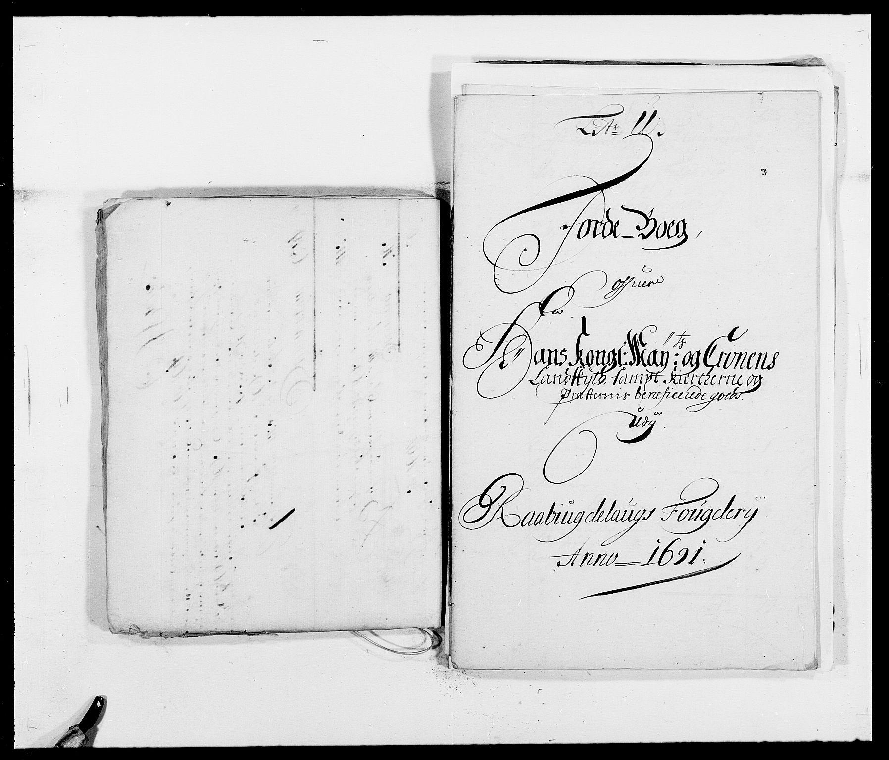 RA, Rentekammeret inntil 1814, Reviderte regnskaper, Fogderegnskap, R40/L2443: Fogderegnskap Råbyggelag, 1691-1692, s. 17
