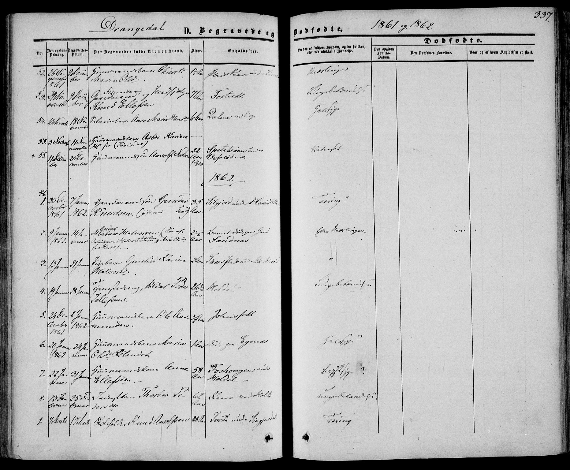 SAKO, Drangedal kirkebøker, F/Fa/L0008: Ministerialbok nr. 8, 1857-1871, s. 337
