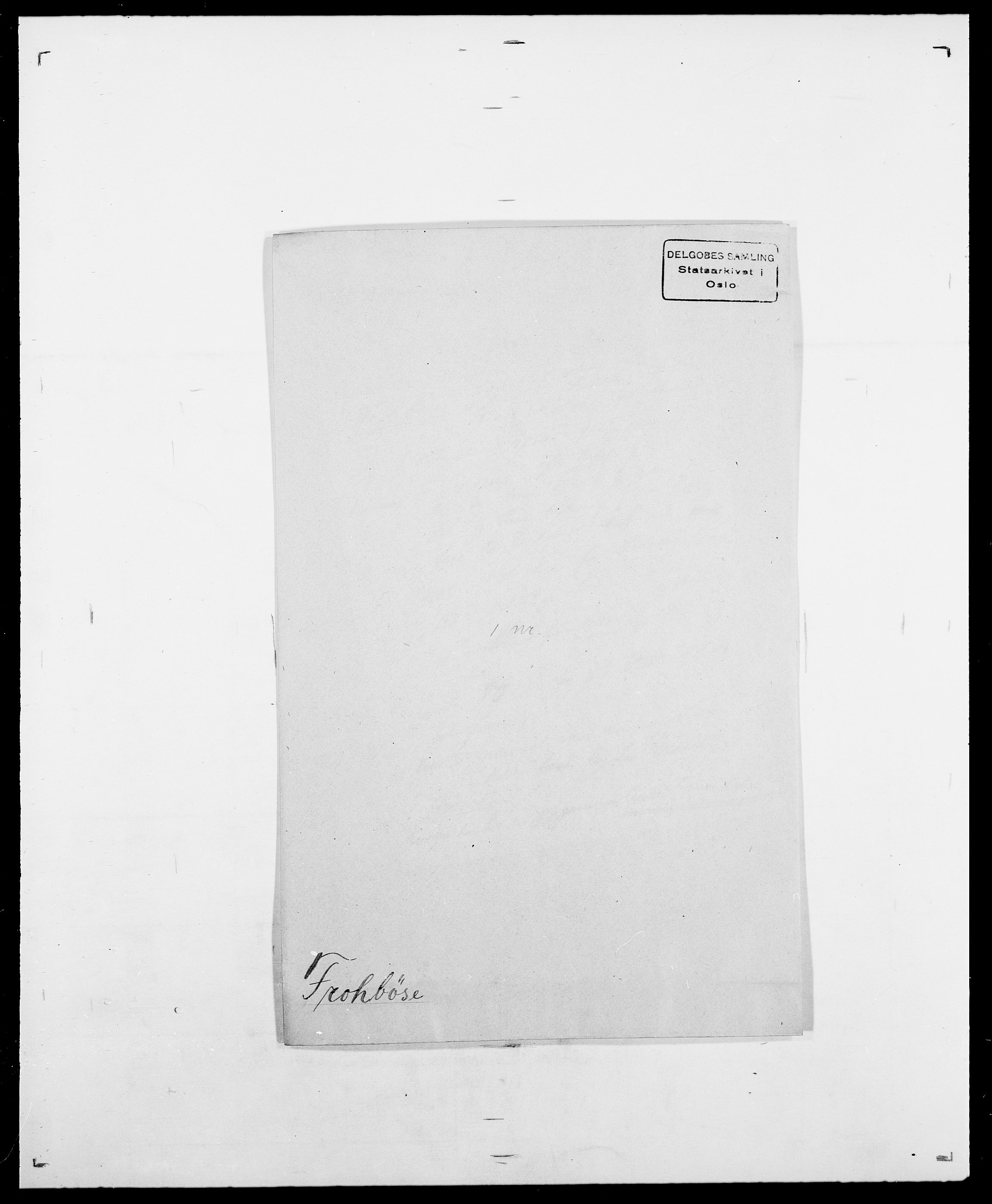 SAO, Delgobe, Charles Antoine - samling, D/Da/L0013: Forbos - Geving, s. 5