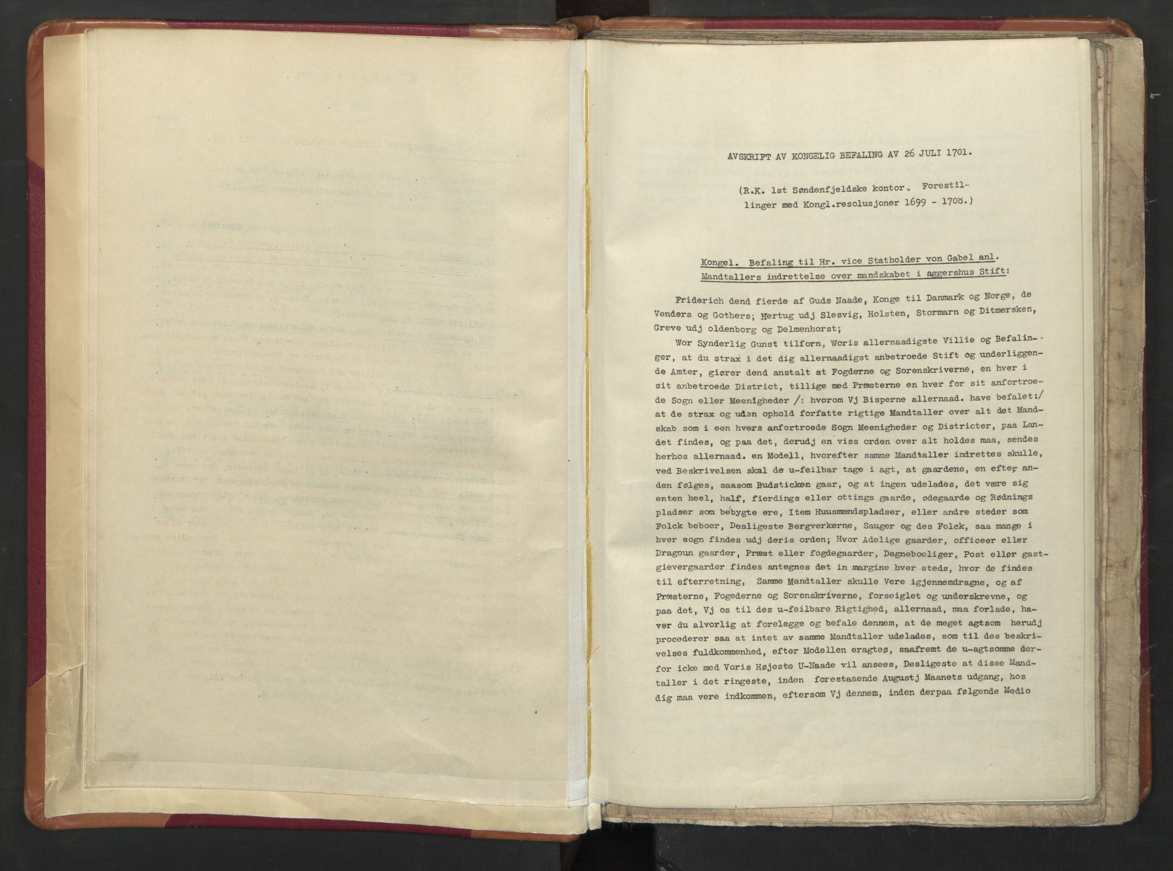 RA, Manntallet 1701, nr. 8: Ytre Sogn fogderi og Indre Sogn fogderi, 1701, s. upaginert