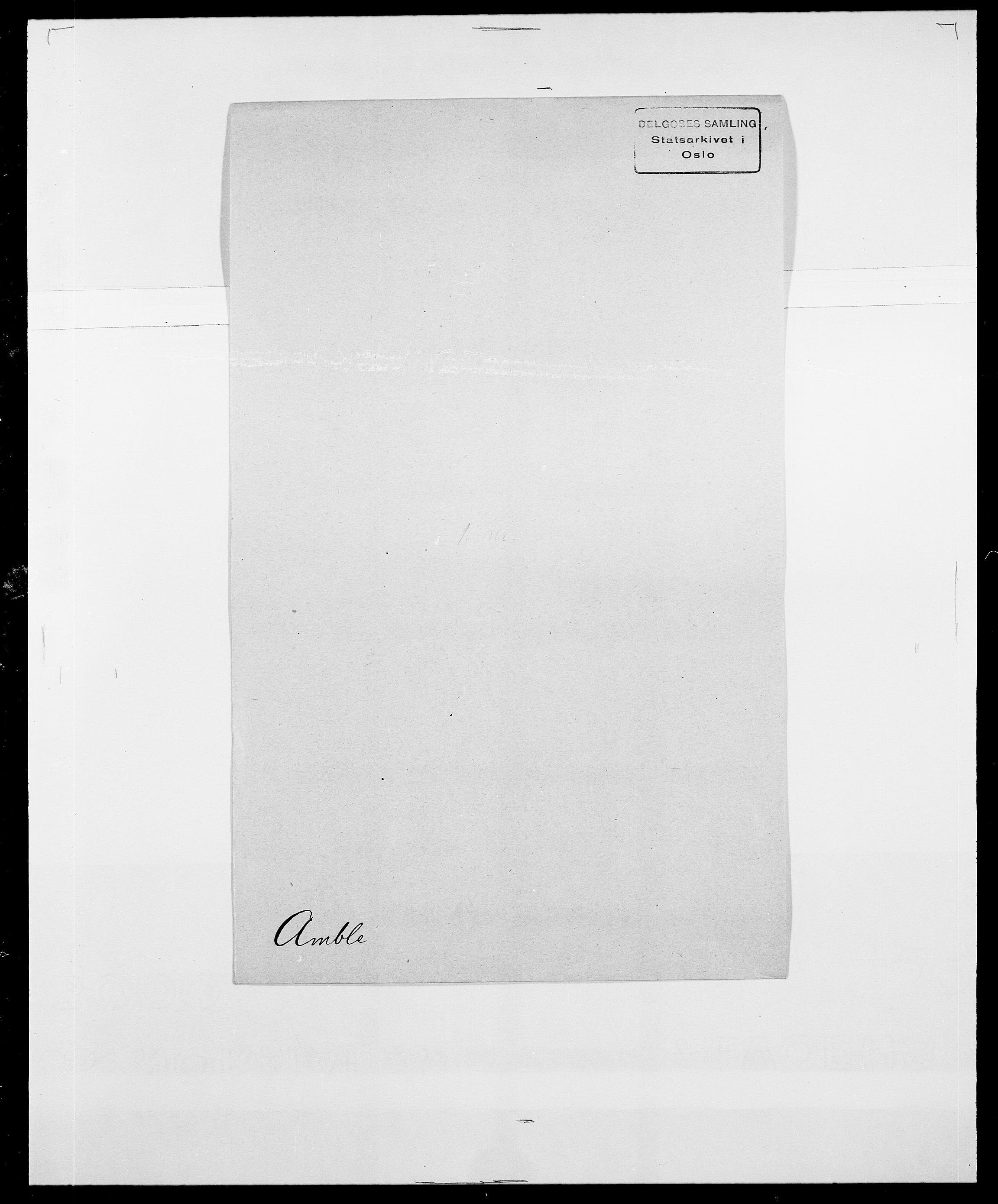 SAO, Delgobe, Charles Antoine - samling, D/Da/L0001: Aabye - Angerman, s. 518
