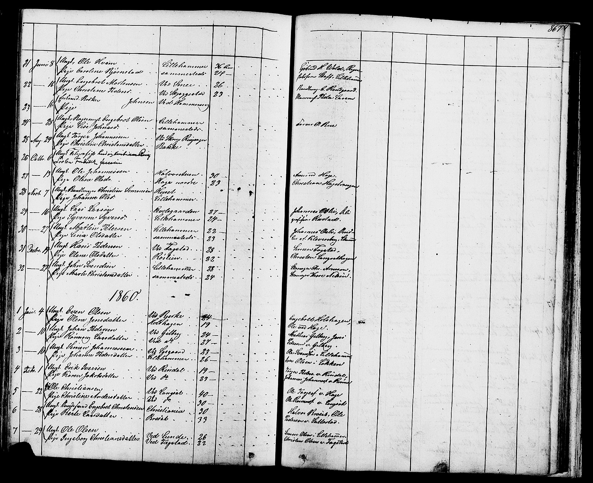 SAH, Fåberg prestekontor, Klokkerbok nr. 7, 1856-1891, s. 866-867