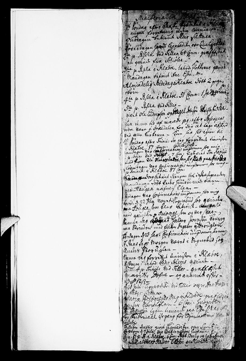 SAT, Ministerialprotokoller, klokkerbøker og fødselsregistre - Sør-Trøndelag, 618/L0436: Ministerialbok nr. 618A01, 1741-1749, s. 2