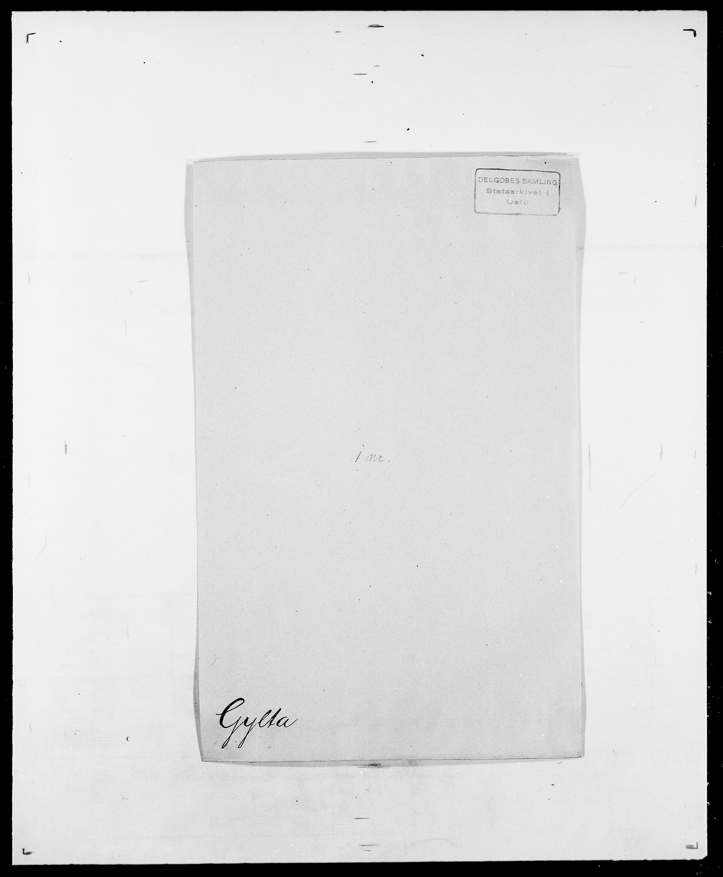 SAO, Delgobe, Charles Antoine - samling, D/Da/L0015: Grodtshilling - Halvorsæth, s. 525