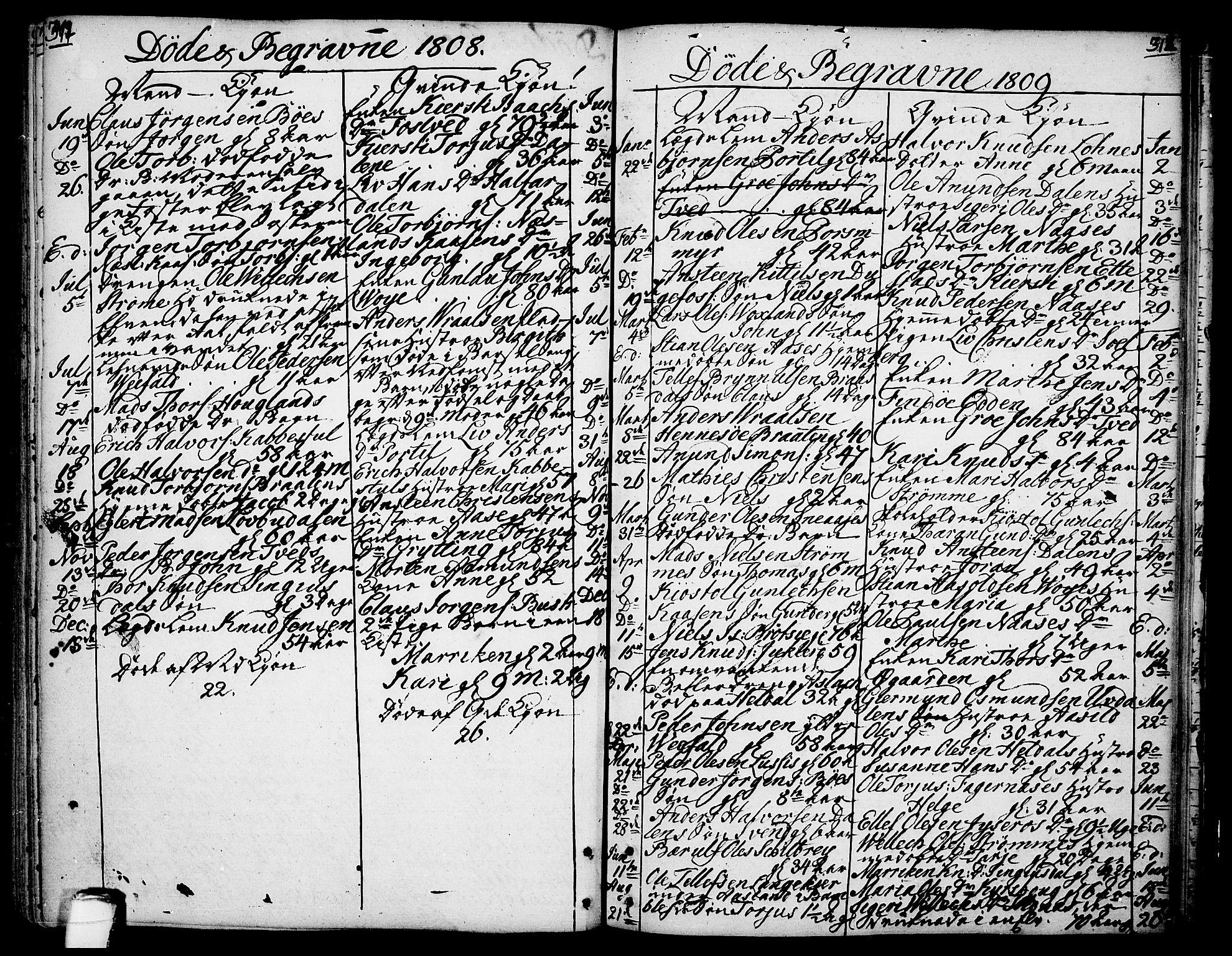 SAKO, Drangedal kirkebøker, F/Fa/L0003: Ministerialbok nr. 3, 1768-1814, s. 311-312