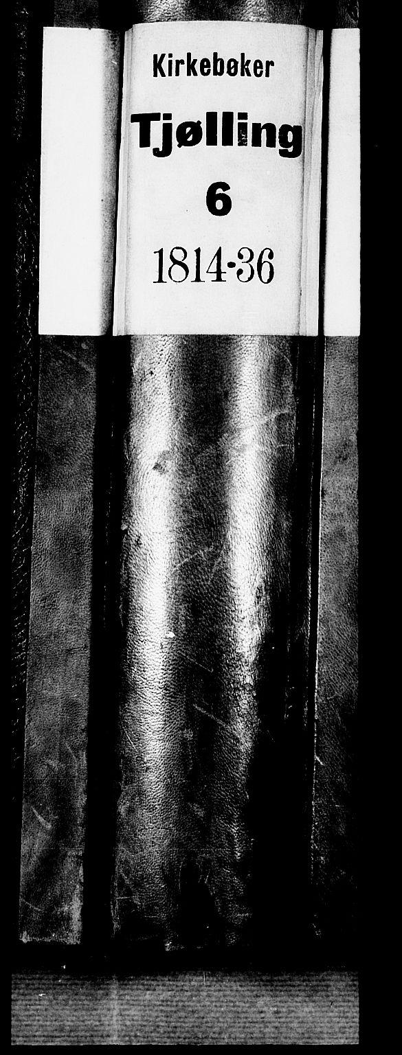 SAKO, Tjølling kirkebøker, F/Fa/L0005: Ministerialbok nr. 5, 1814-1836