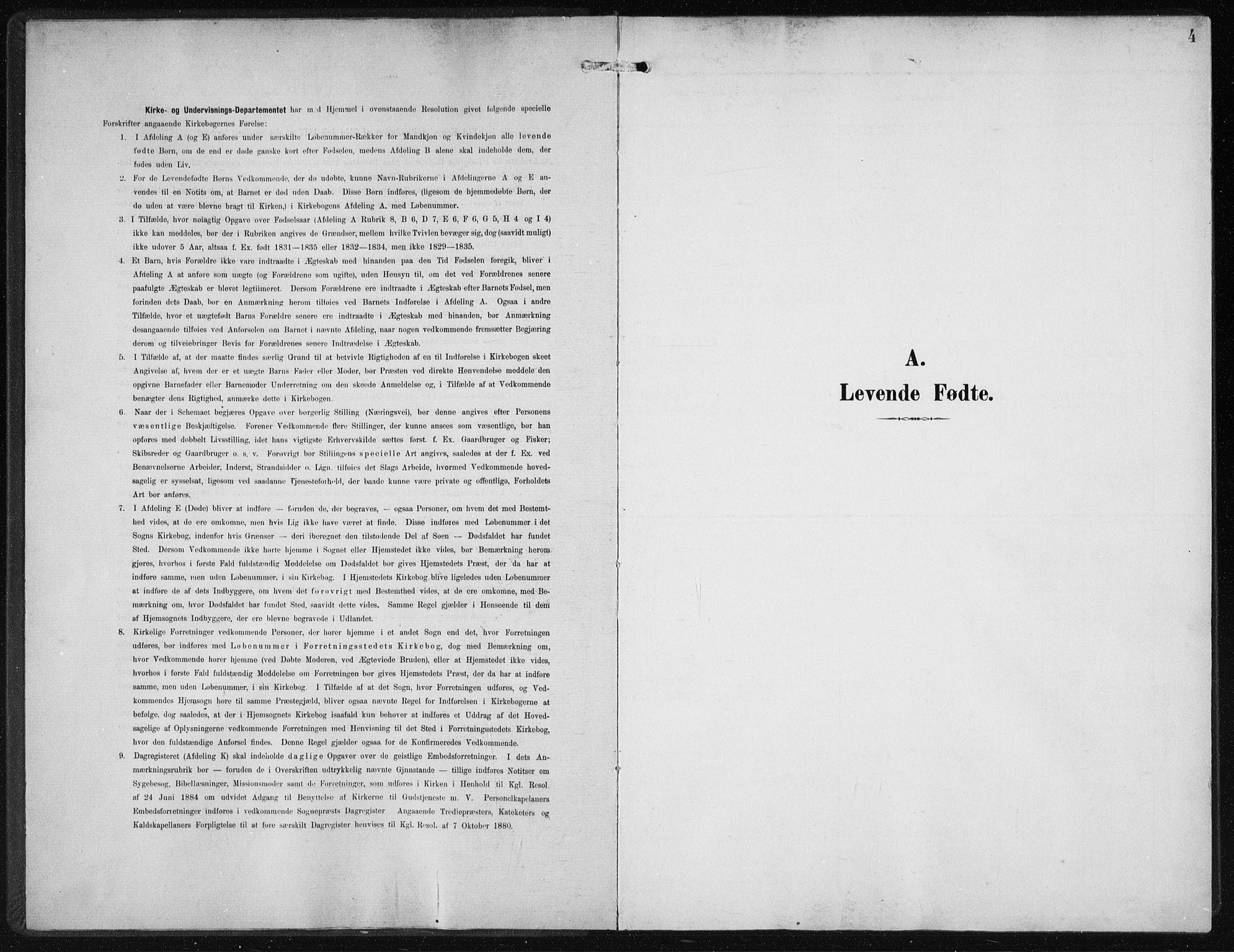 SAB, Privatarkiv 110 - Den norske sjømannsmisjon i utlandet/New York, H/Ha/L0005: Ministerialbok nr. A 5, 1902-1908, s. 4