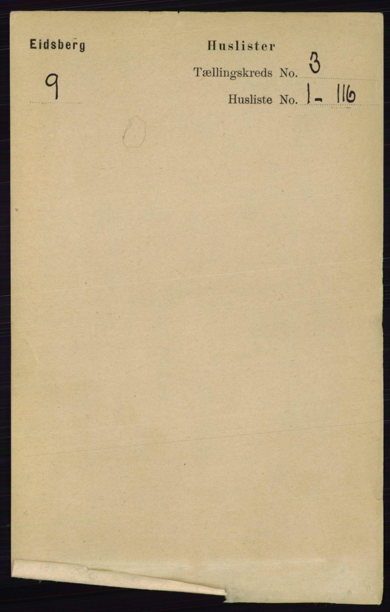 RA, Folketelling 1891 for 0125 Eidsberg herred, 1891, s. 1318