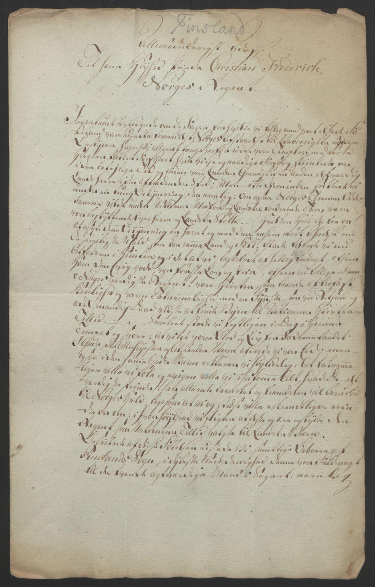 RA, Statsrådssekretariatet, D/Db/L0008: Fullmakter for Eidsvollsrepresentantene i 1814. , 1814, s. 124
