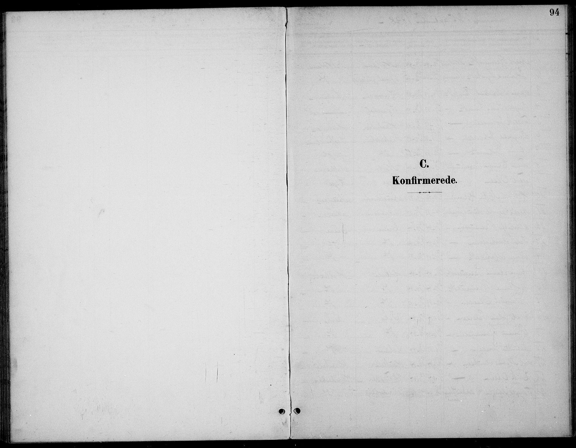SAST, Høgsfjord sokneprestkontor, H/Ha/Haa/L0007: Ministerialbok nr. A 7, 1898-1917, s. 94