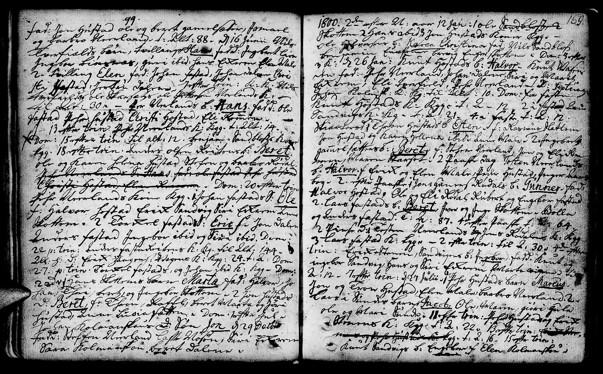 SAT, Ministerialprotokoller, klokkerbøker og fødselsregistre - Møre og Romsdal, 566/L0762: Ministerialbok nr. 566A02 /2, 1790-1804, s. 169