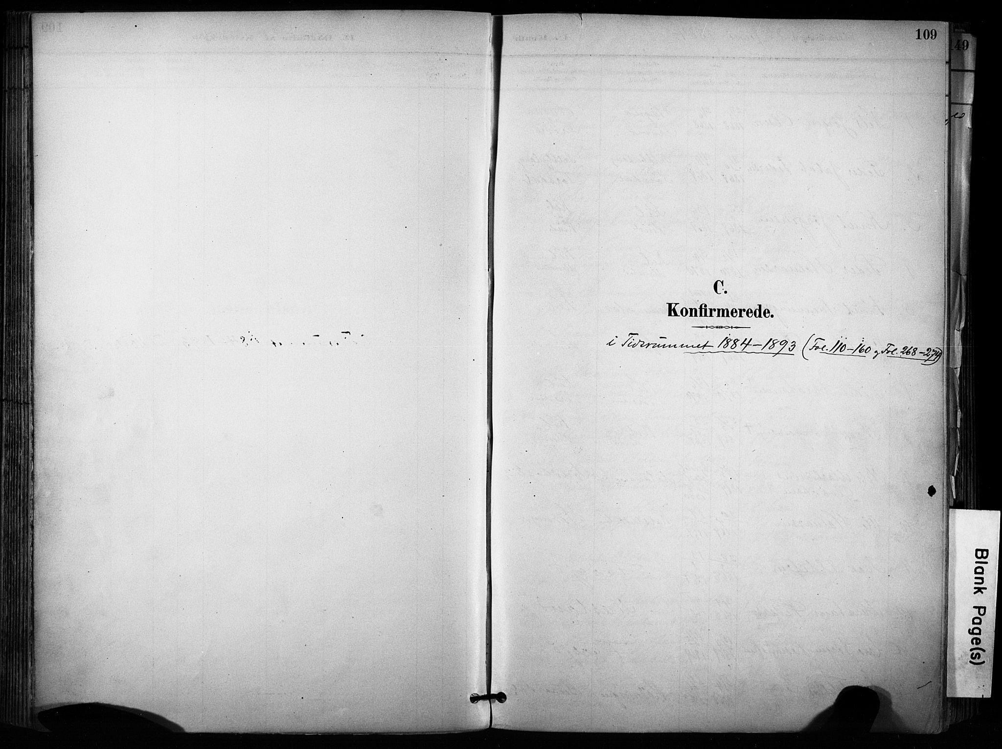 SAKO, Sannidal kirkebøker, F/Fa/L0015: Ministerialbok nr. 15, 1884-1899, s. 109