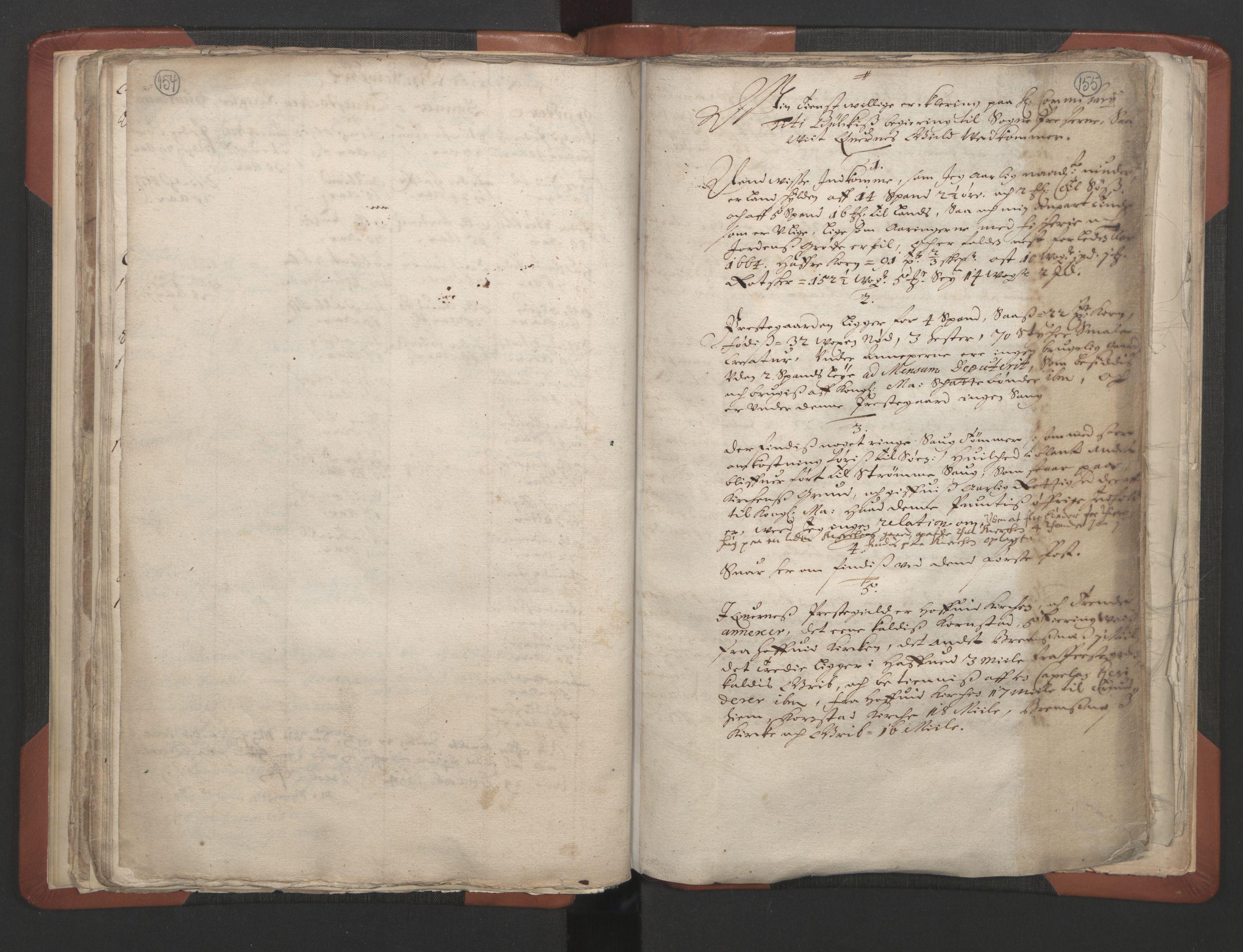 RA, Sogneprestenes manntall 1664-1666, nr. 28: Nordmøre prosti, 1664-1666, s. 154-155