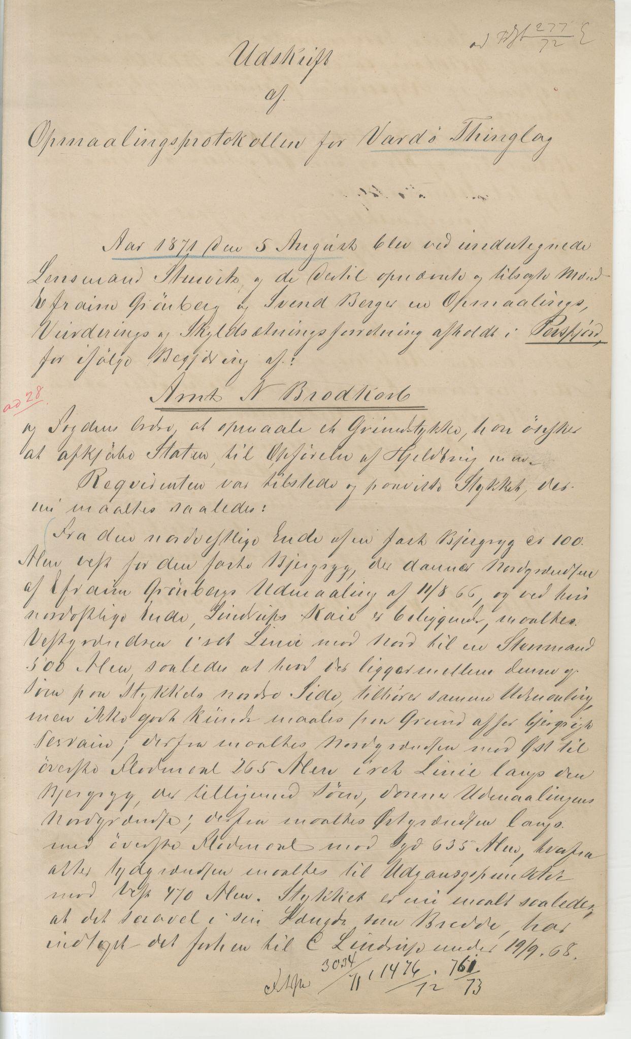 VAMU, Brodtkorb handel A/S, Q/Qb/L0003: Faste eiendommer i Vardø Herred, 1862-1939, s. 89