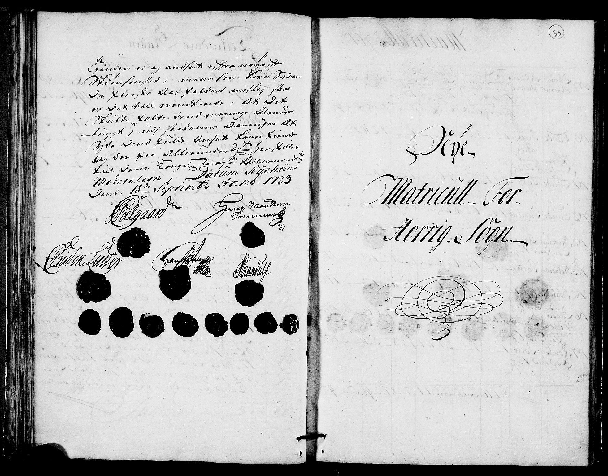 RA, Rentekammeret inntil 1814, Realistisk ordnet avdeling, N/Nb/Nbf/L0159: Gauldal matrikkelprotokoll, 1723, s. 29b-30a