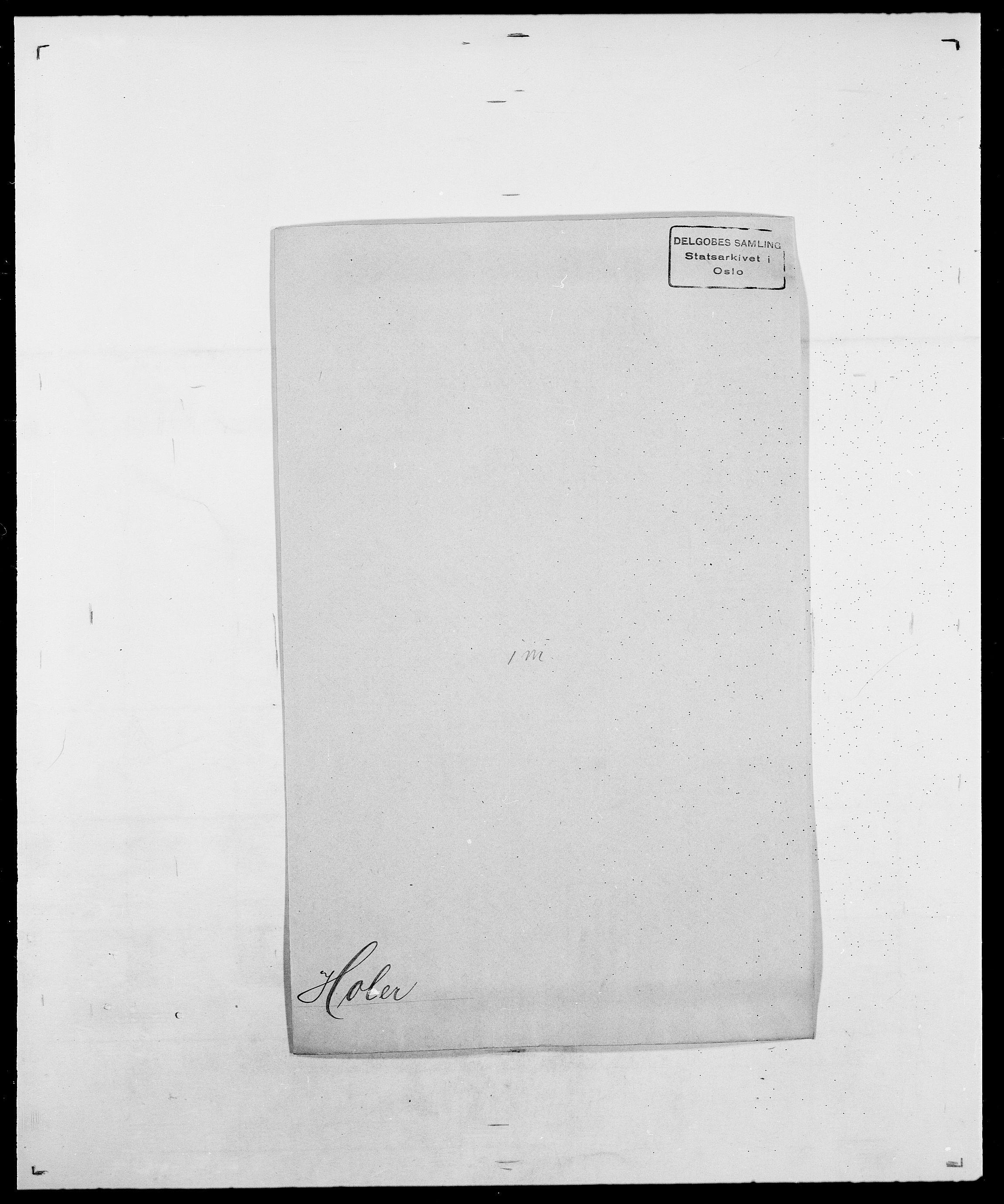 SAO, Delgobe, Charles Antoine - samling, D/Da/L0018: Hoch - Howert, s. 238