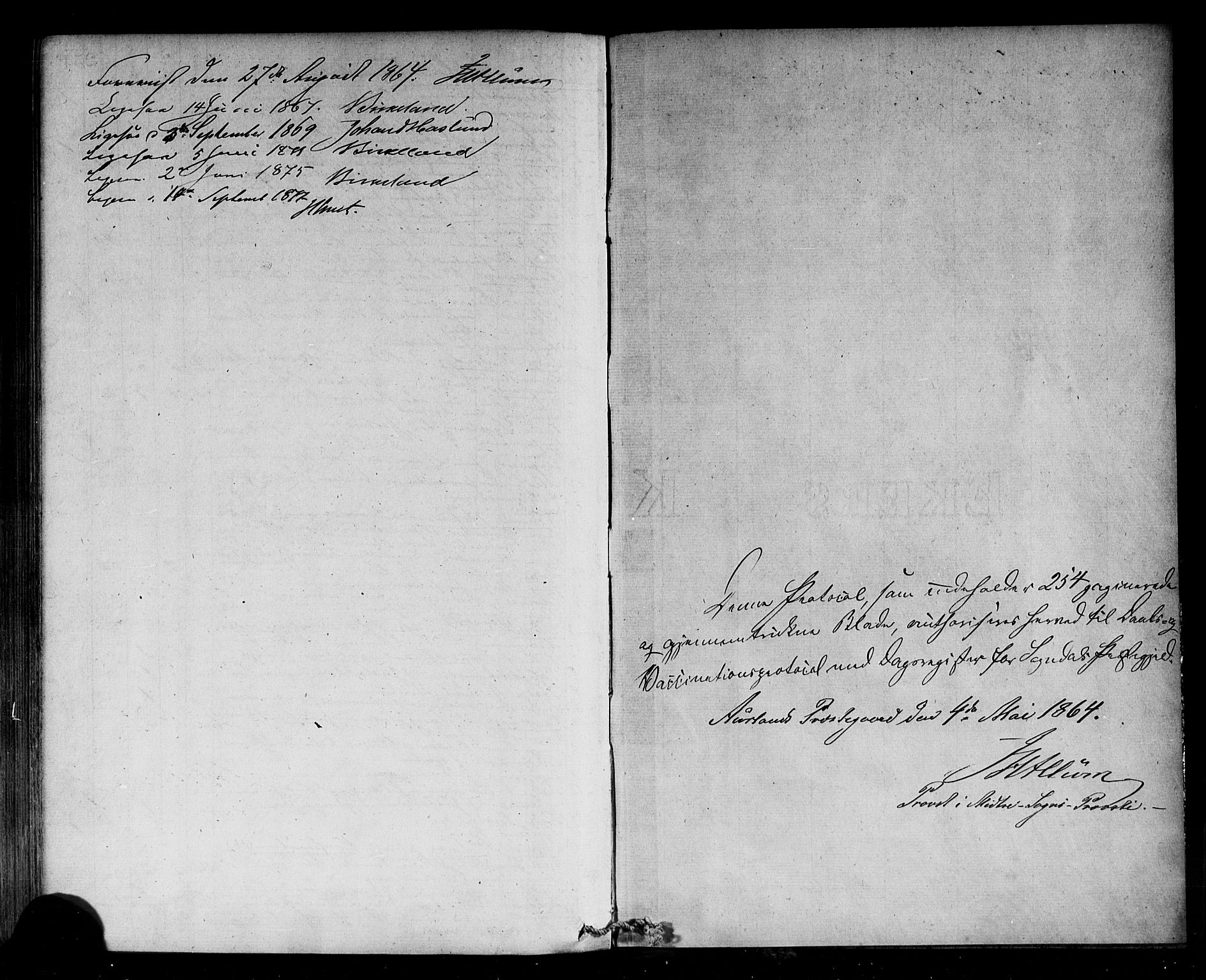 SAB, Sogndal Sokneprestembete, H/Haa/Haaa/L0014: Ministerialbok nr. A 14, 1864-1877, s. 255