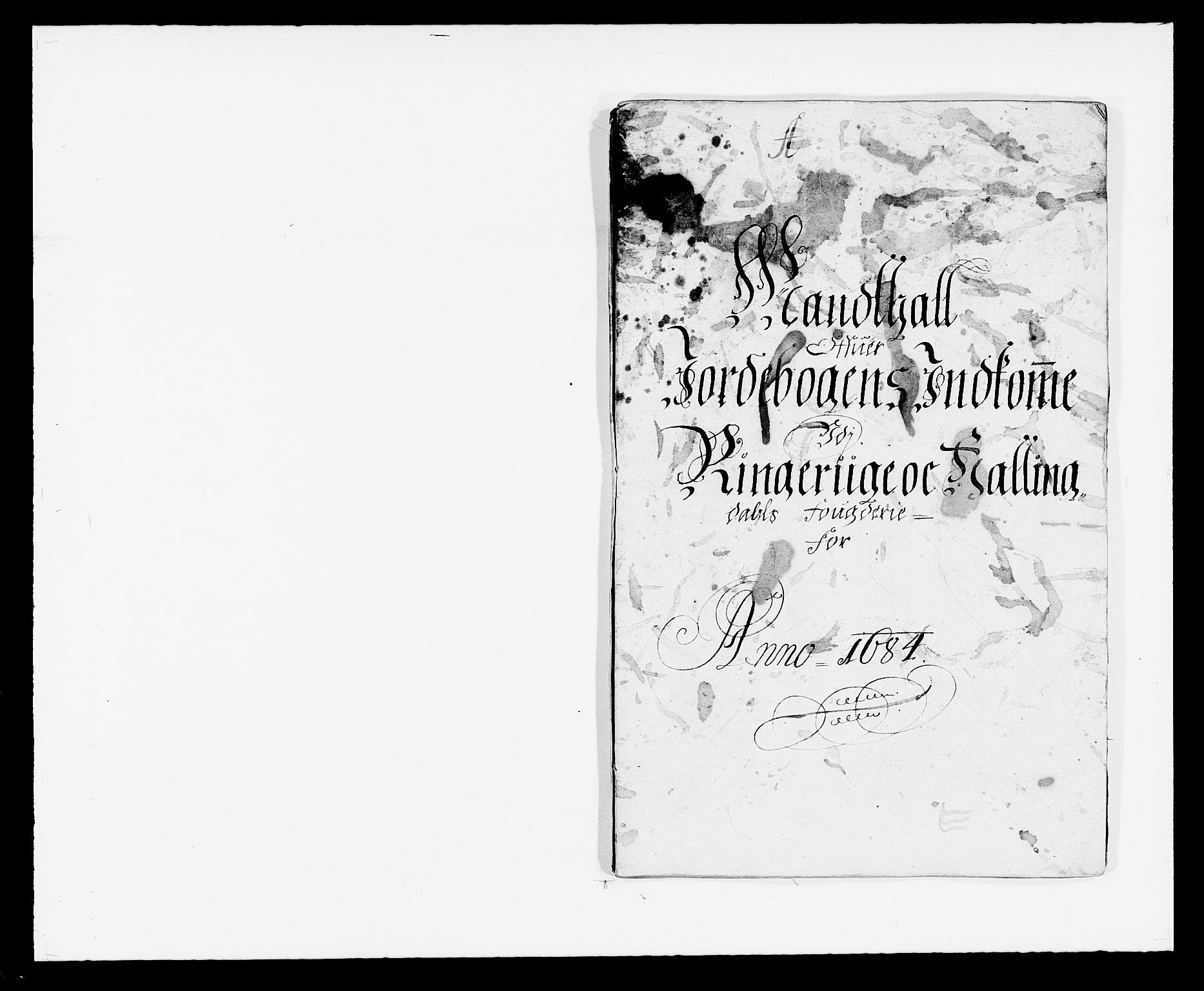 RA, Rentekammeret inntil 1814, Reviderte regnskaper, Fogderegnskap, R21/L1446: Fogderegnskap Ringerike og Hallingdal, 1683-1686, s. 171