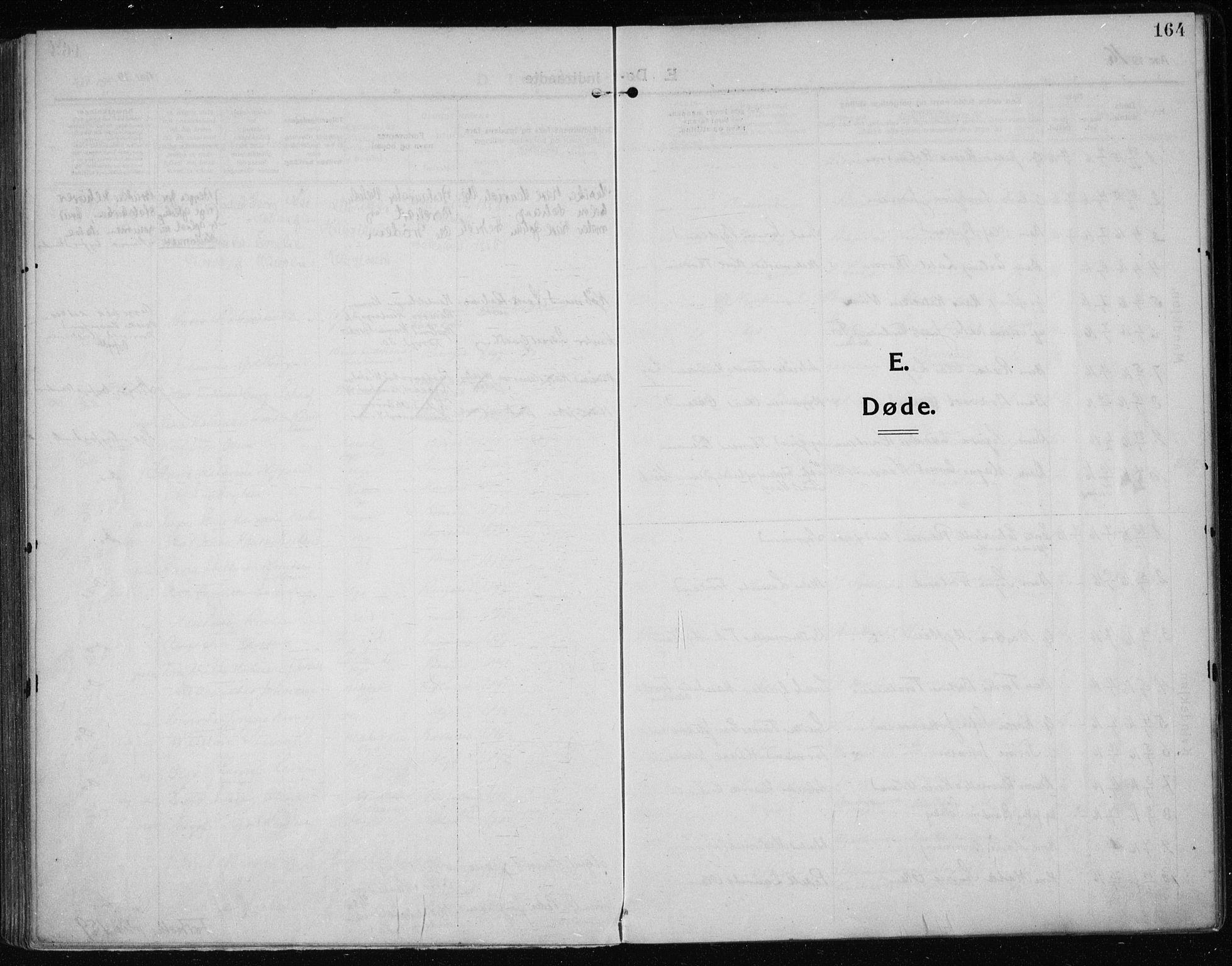 SAST, Haugesund sokneprestkontor, H/Ha/Haa/L0009: Ministerialbok nr. A 9, 1914-1929, s. 164