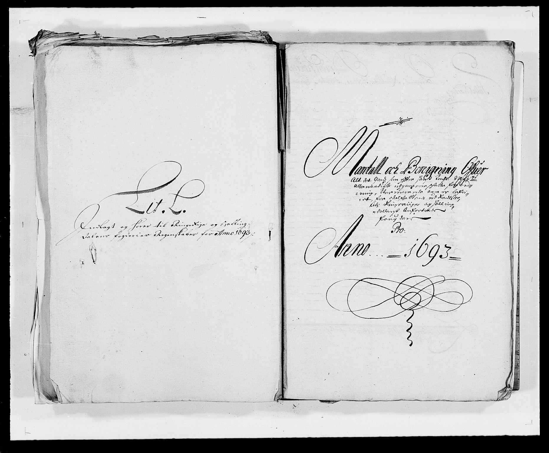 RA, Rentekammeret inntil 1814, Reviderte regnskaper, Fogderegnskap, R21/L1450: Fogderegnskap Ringerike og Hallingdal, 1693, s. 148
