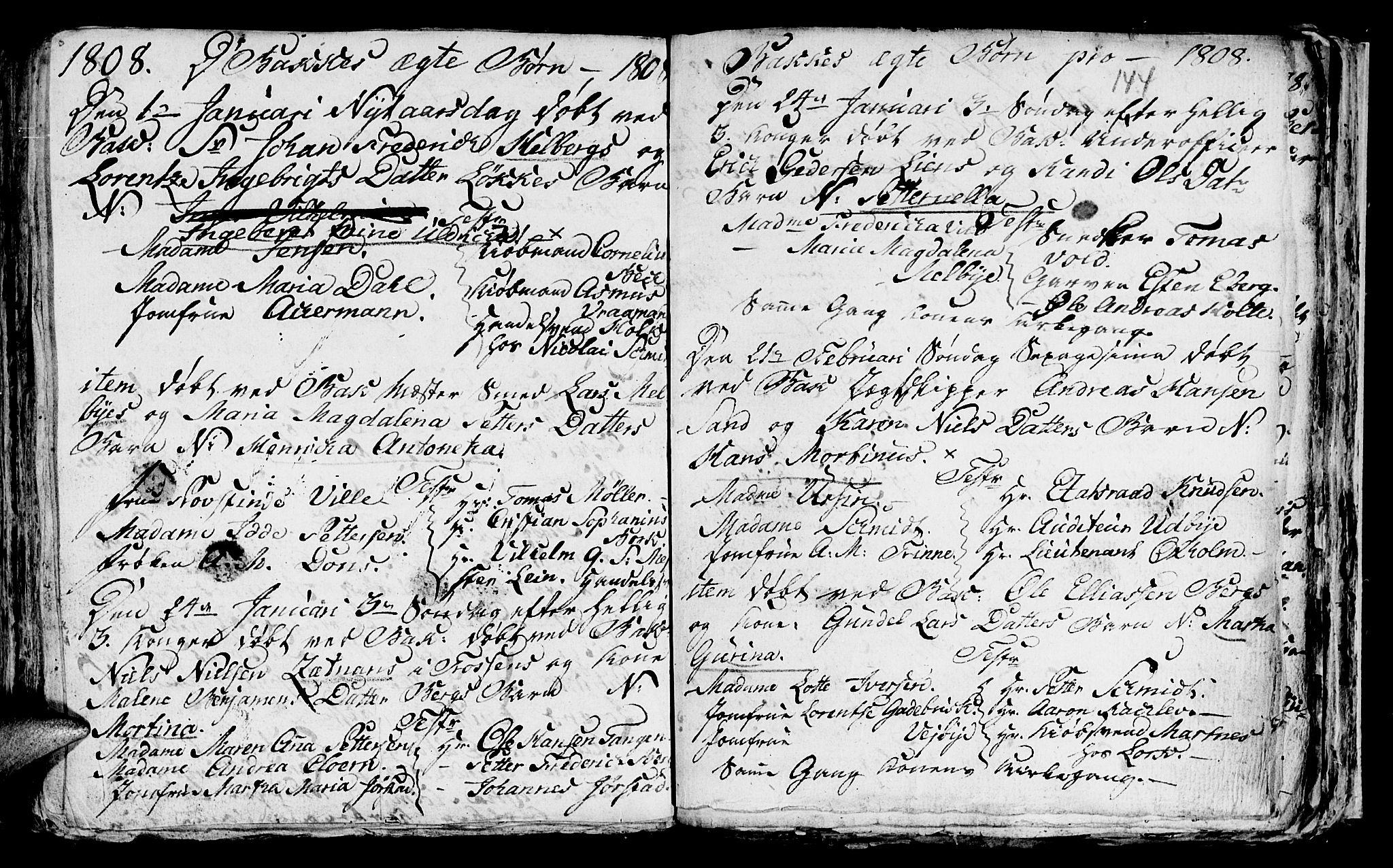 SAT, Ministerialprotokoller, klokkerbøker og fødselsregistre - Sør-Trøndelag, 604/L0218: Klokkerbok nr. 604C01, 1754-1819, s. 144