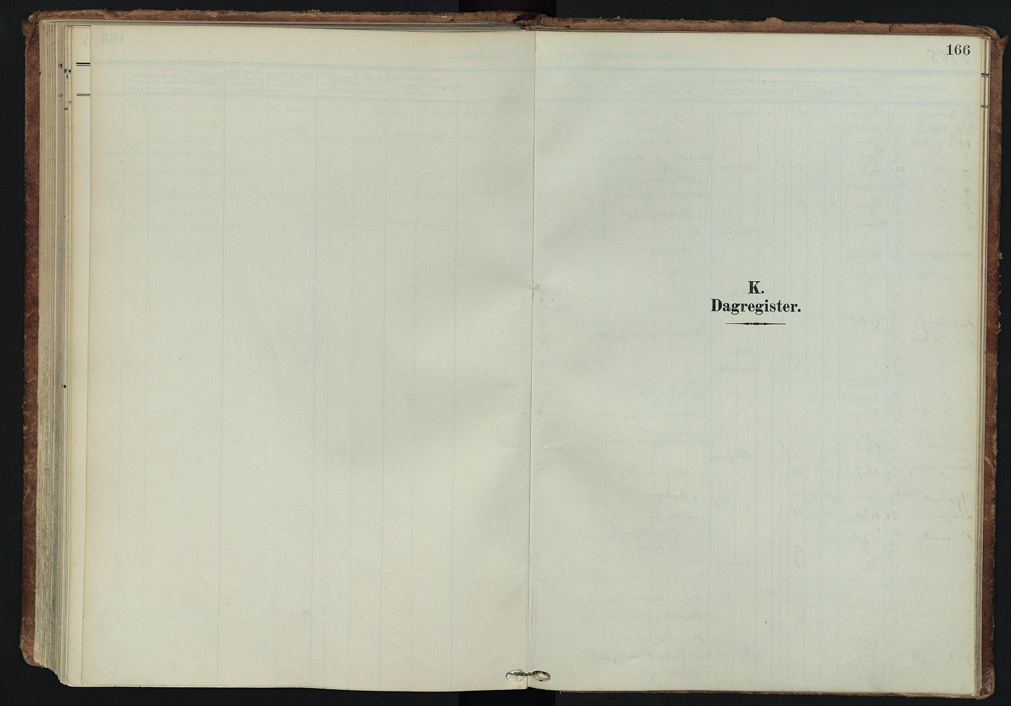 SATØ, Tranøy sokneprestkontor, I/Ia/Iaa/L0014kirke: Ministerialbok nr. 14, 1905-1919, s. 166