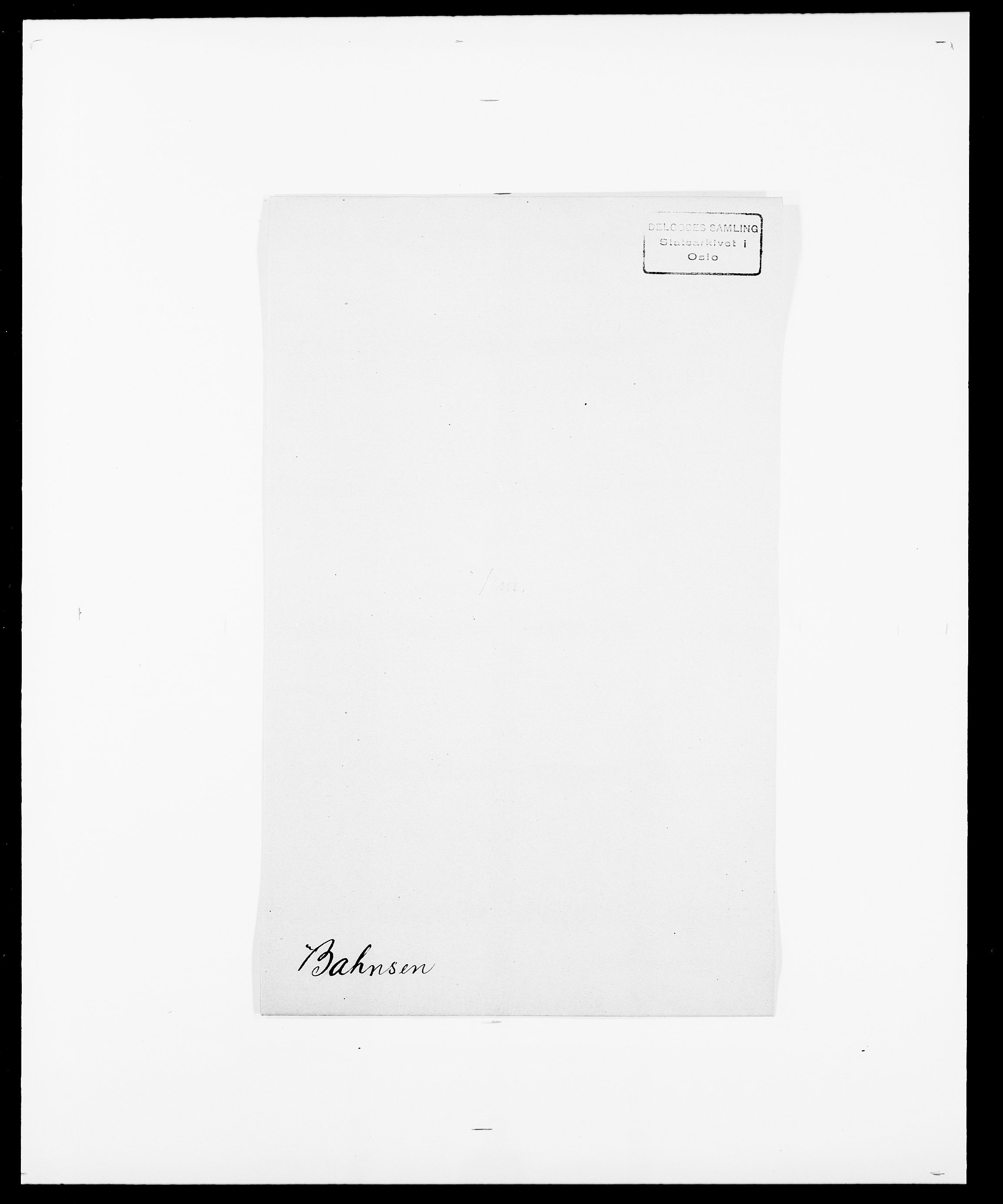 SAO, Delgobe, Charles Antoine - samling, D/Da/L0003: Barca - Bergen, s. 138