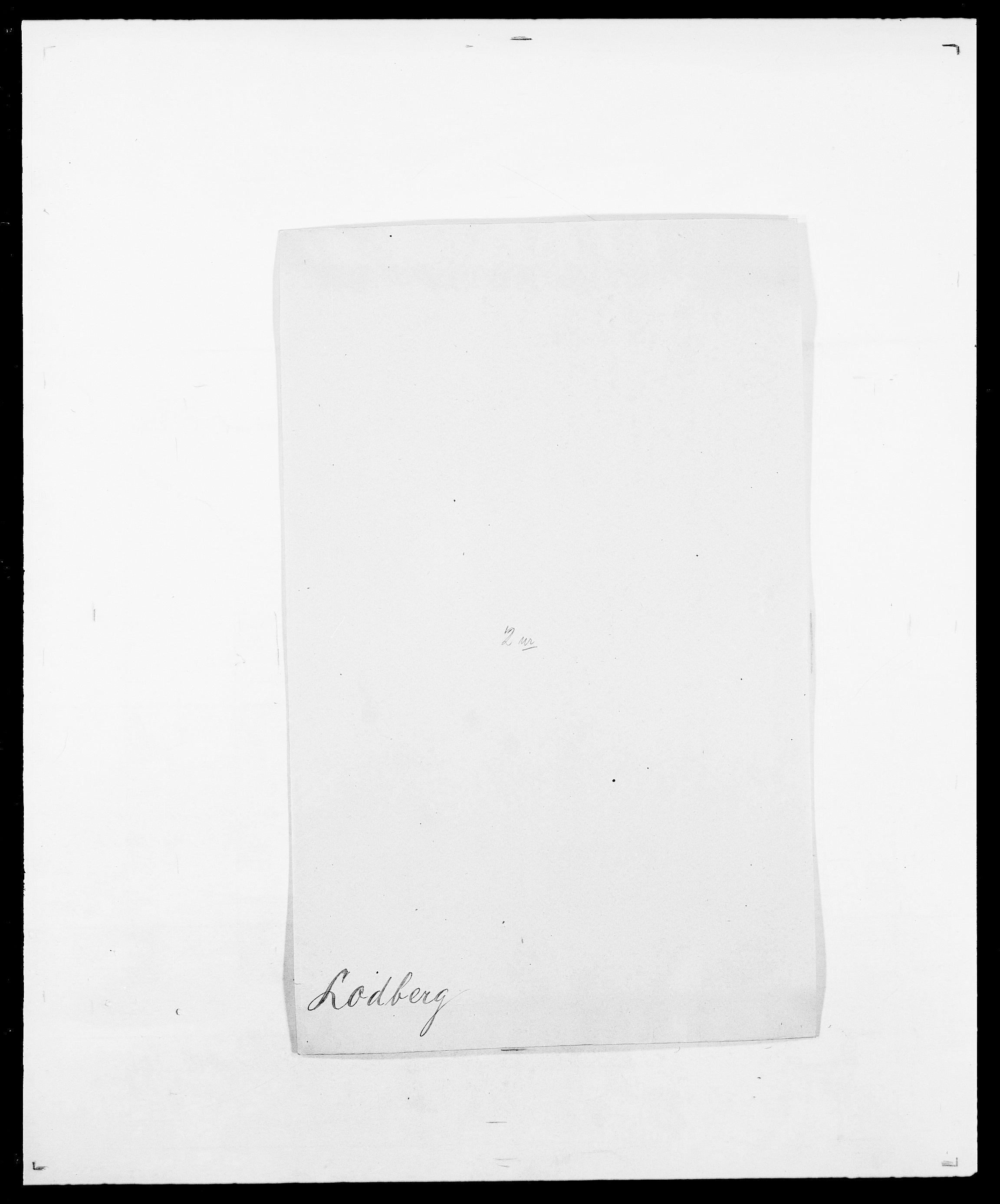 SAO, Delgobe, Charles Antoine - samling, D/Da/L0024: Lobech - Lærum, s. 29