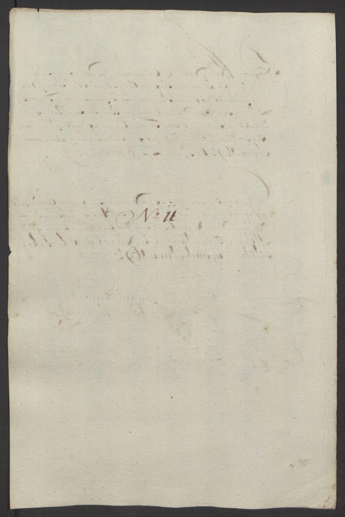 RA, Rentekammeret inntil 1814, Reviderte regnskaper, Fogderegnskap, R64/L4424: Fogderegnskap Namdal, 1692-1695, s. 418