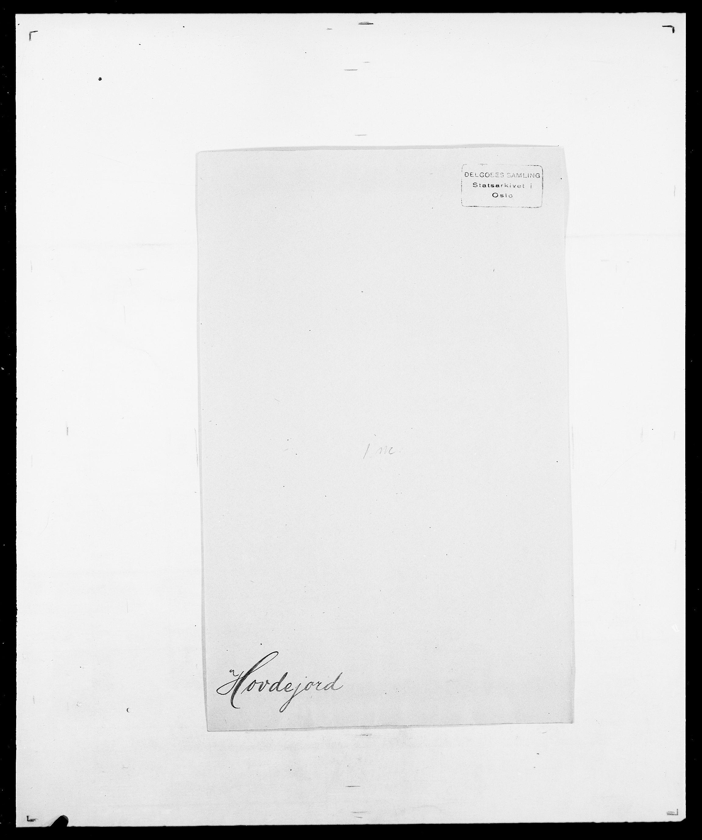 SAO, Delgobe, Charles Antoine - samling, D/Da/L0018: Hoch - Howert, s. 1038