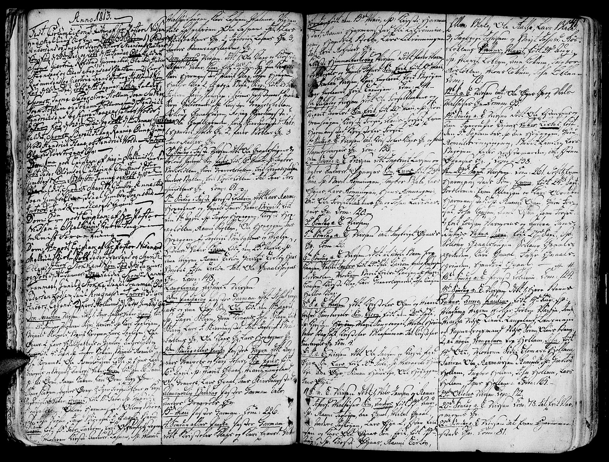 SAT, Ministerialprotokoller, klokkerbøker og fødselsregistre - Sør-Trøndelag, 691/L1061: Ministerialbok nr. 691A02 /1, 1768-1815, s. 41