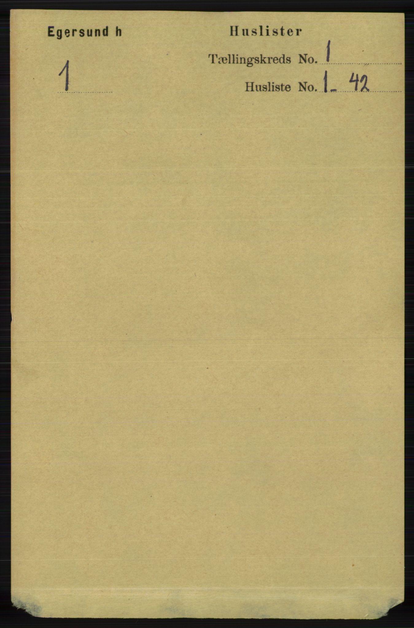 RA, Folketelling 1891 for 1116 Eigersund herred, 1891, s. 21