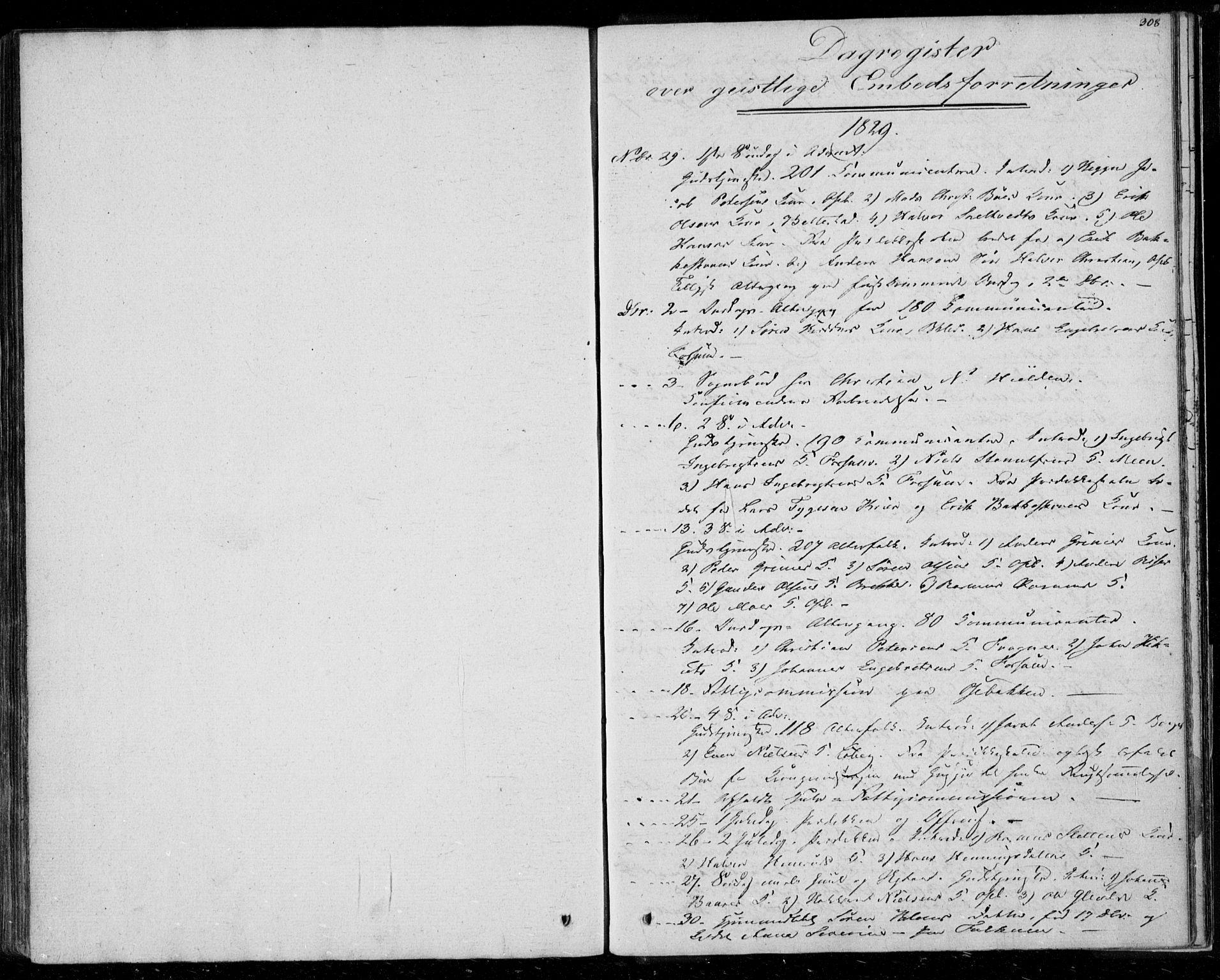 SAKO, Gjerpen kirkebøker, F/Fa/L0006: Ministerialbok nr. 6, 1829-1834, s. 308