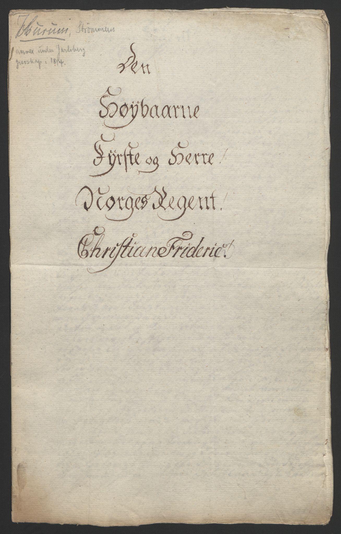 RA, Statsrådssekretariatet, D/Db/L0008: Fullmakter for Eidsvollsrepresentantene i 1814. , 1814, s. 10