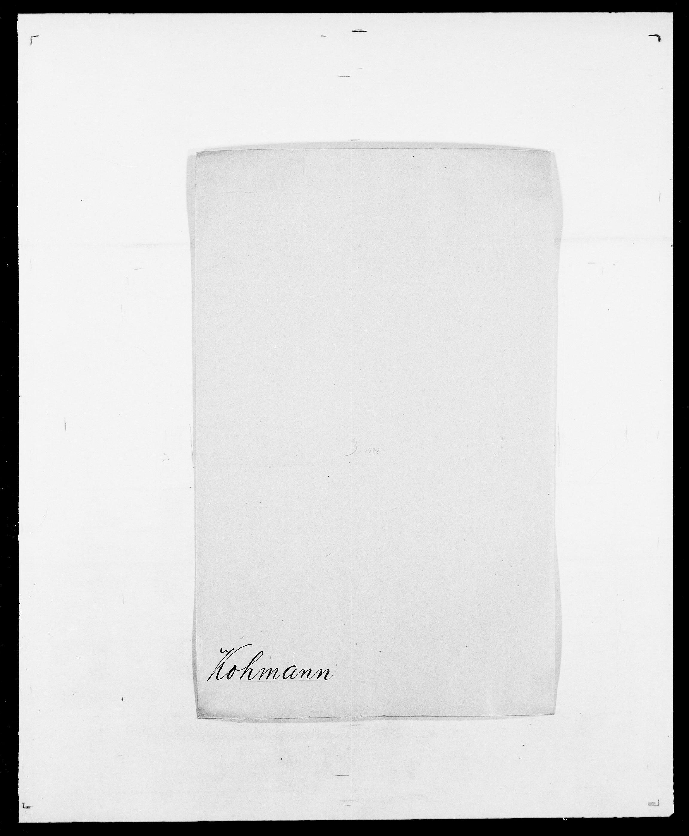 SAO, Delgobe, Charles Antoine - samling, D/Da/L0021: Klagenberg - Kristoft, s. 467
