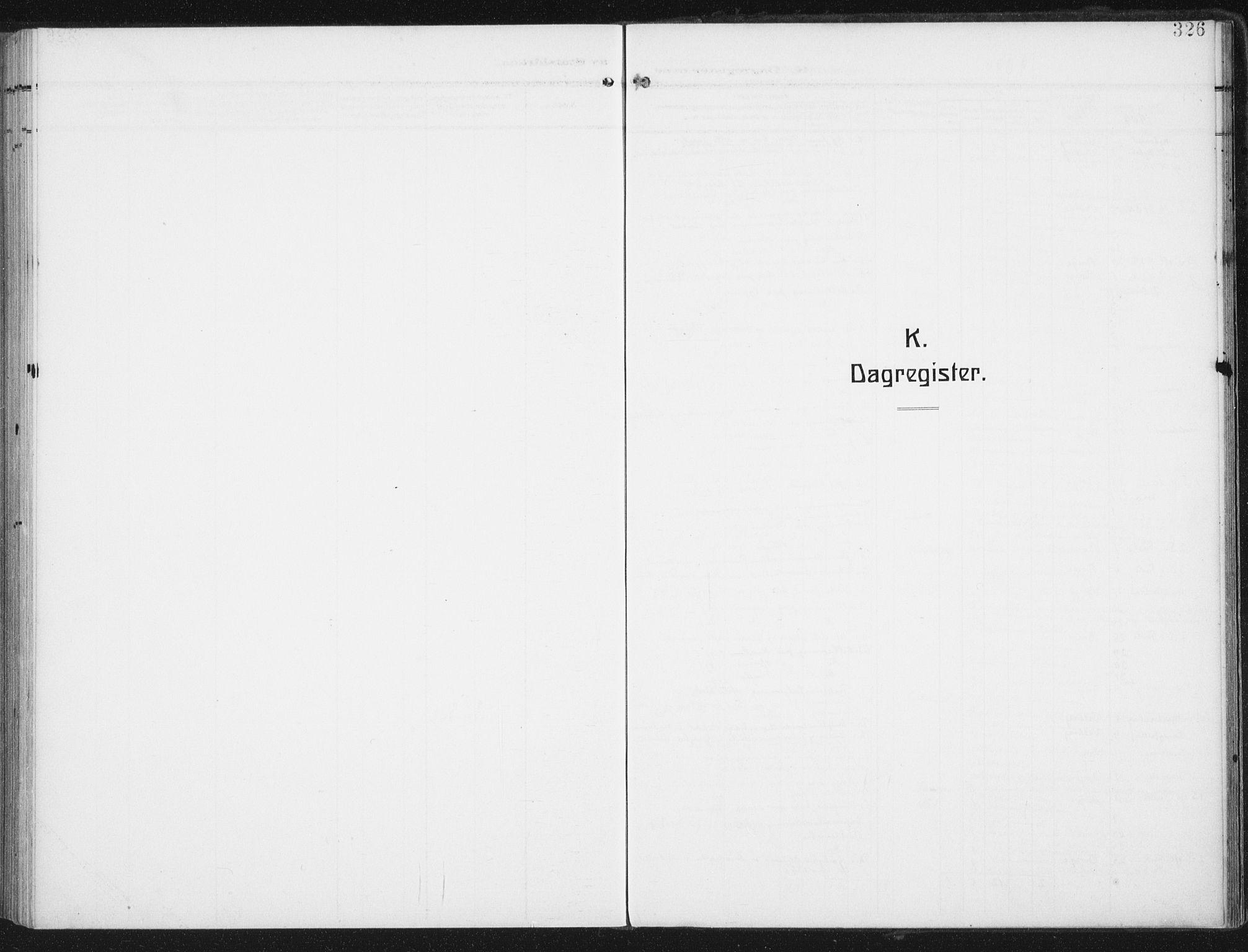 SAT, Ministerialprotokoller, klokkerbøker og fødselsregistre - Nordland, 880/L1135: Ministerialbok nr. 880A09, 1908-1919, s. 326