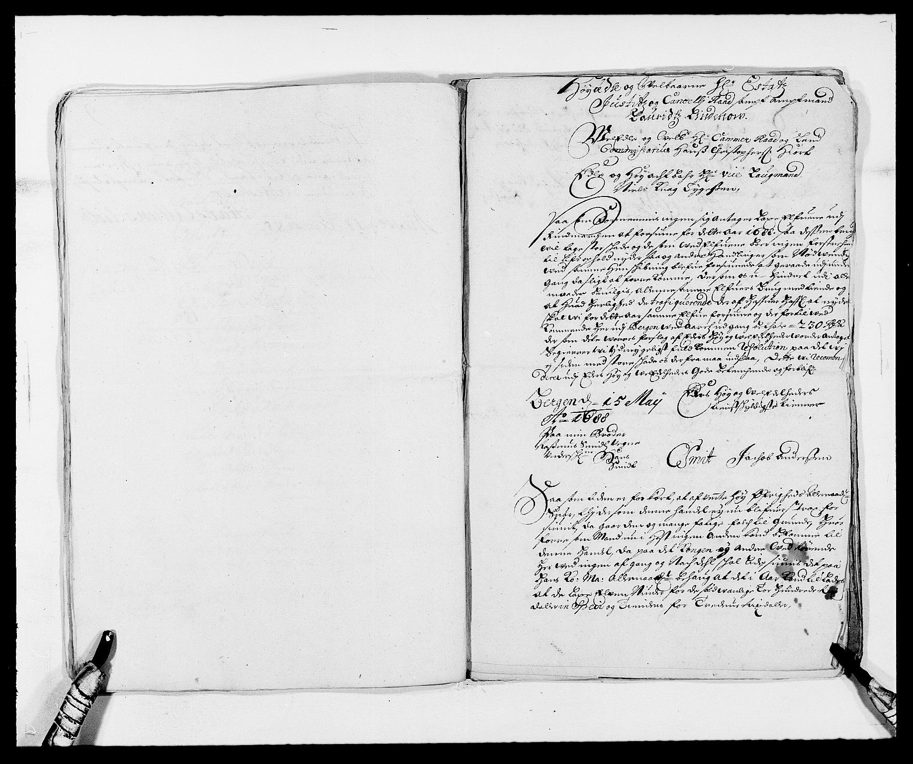 RA, Rentekammeret inntil 1814, Reviderte regnskaper, Fogderegnskap, R69/L4850: Fogderegnskap Finnmark/Vardøhus, 1680-1690, s. 93