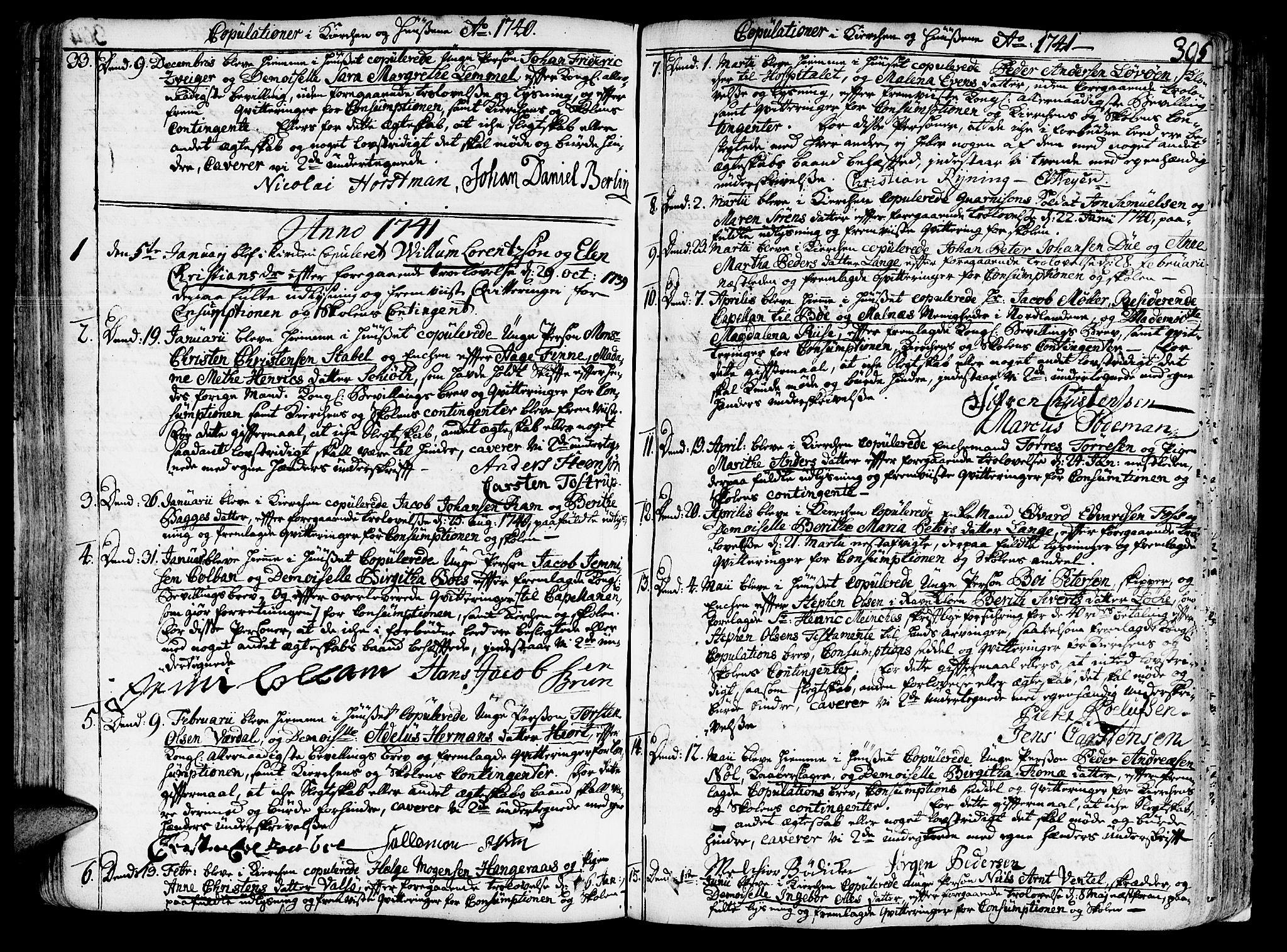 SAT, Ministerialprotokoller, klokkerbøker og fødselsregistre - Sør-Trøndelag, 602/L0103: Ministerialbok nr. 602A01, 1732-1774, s. 395