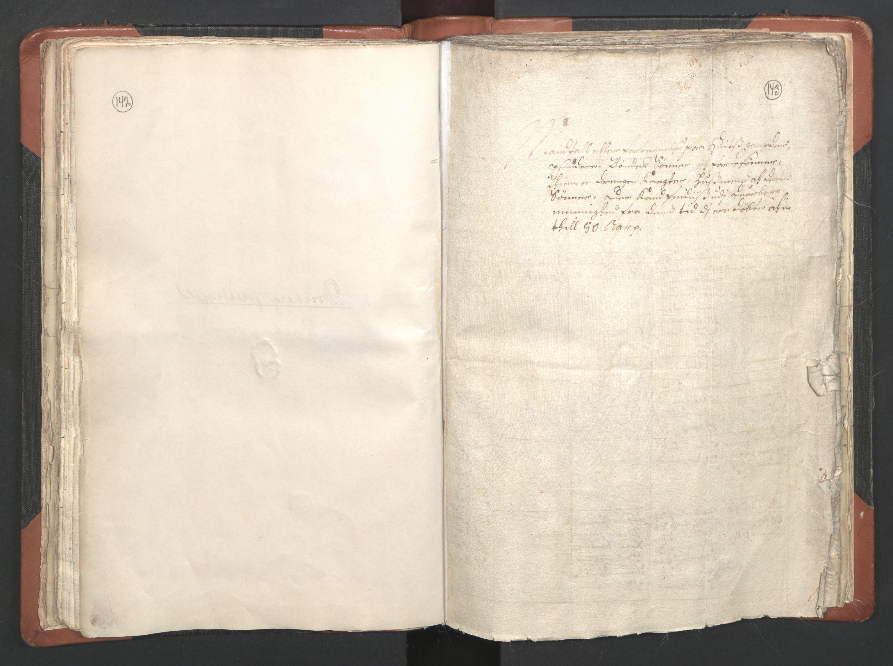 RA, Sogneprestenes manntall 1664-1666, nr. 36: Lofoten og Vesterålen prosti, Senja prosti og Troms prosti, 1664-1666, s. 142-143