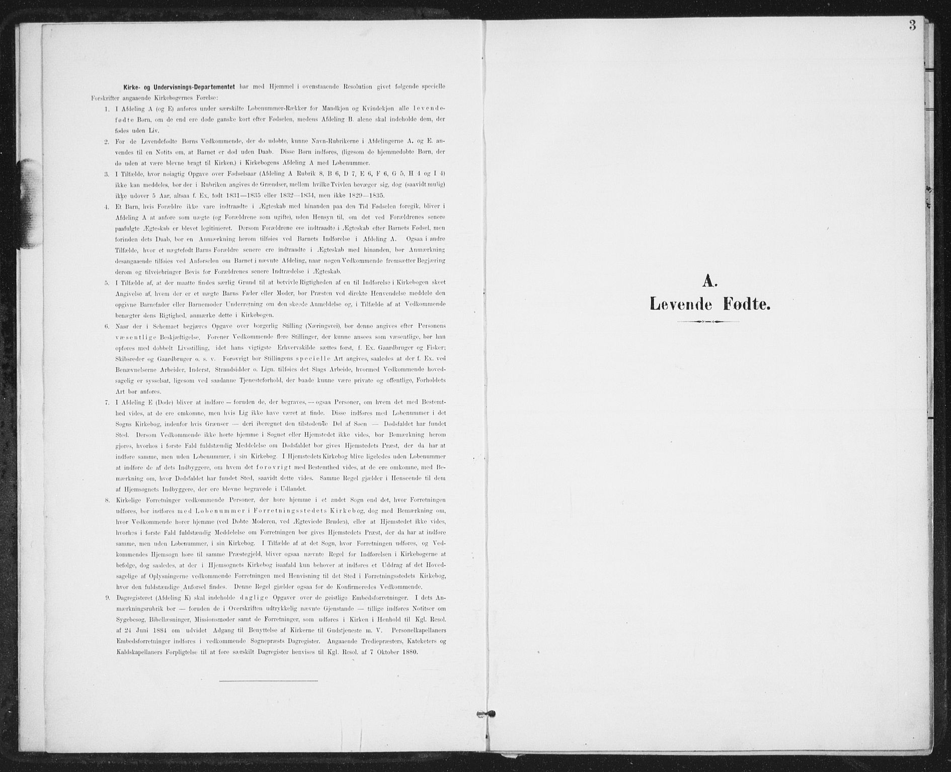 SAT, Ministerialprotokoller, klokkerbøker og fødselsregistre - Nordland, 899/L1437: Ministerialbok nr. 899A05, 1897-1908, s. 3