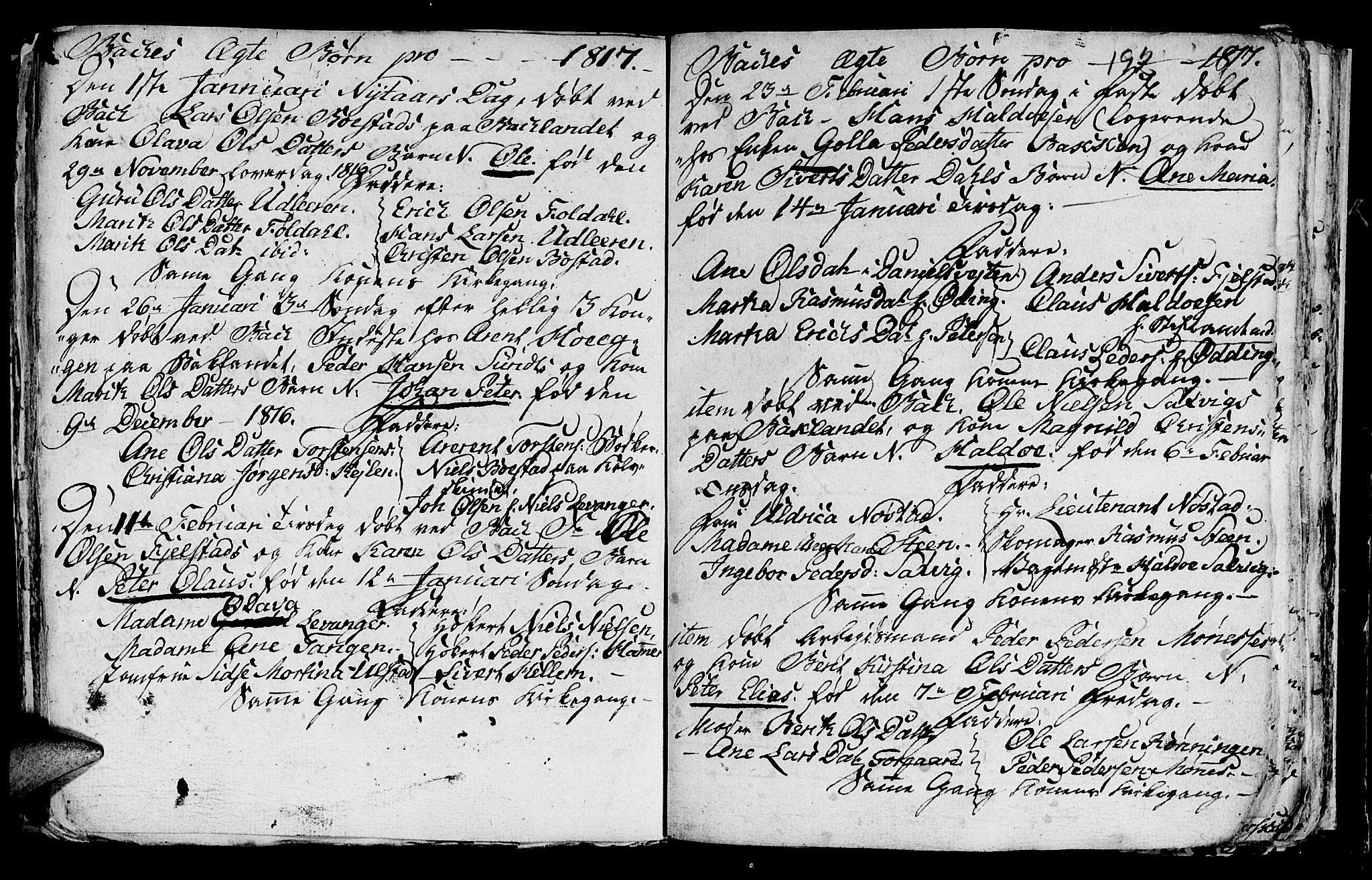 SAT, Ministerialprotokoller, klokkerbøker og fødselsregistre - Sør-Trøndelag, 604/L0218: Klokkerbok nr. 604C01, 1754-1819, s. 192