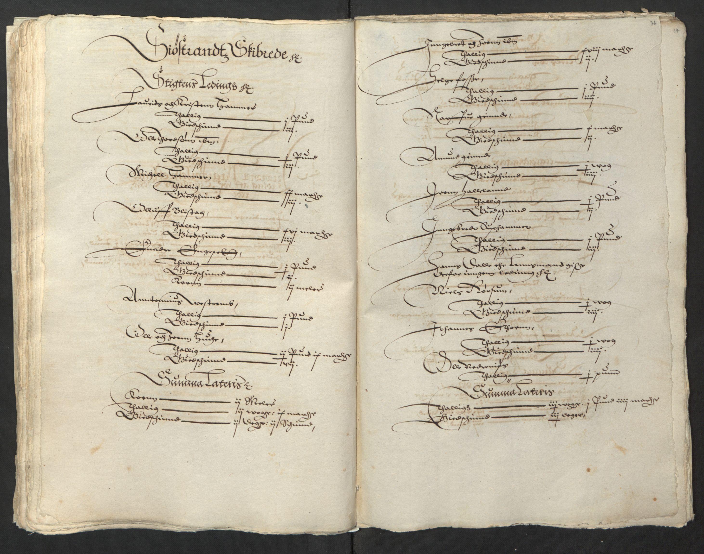 RA, Stattholderembetet 1572-1771, Ek/L0003: Jordebøker til utlikning av garnisonsskatt 1624-1626:, 1624-1625, s. 152