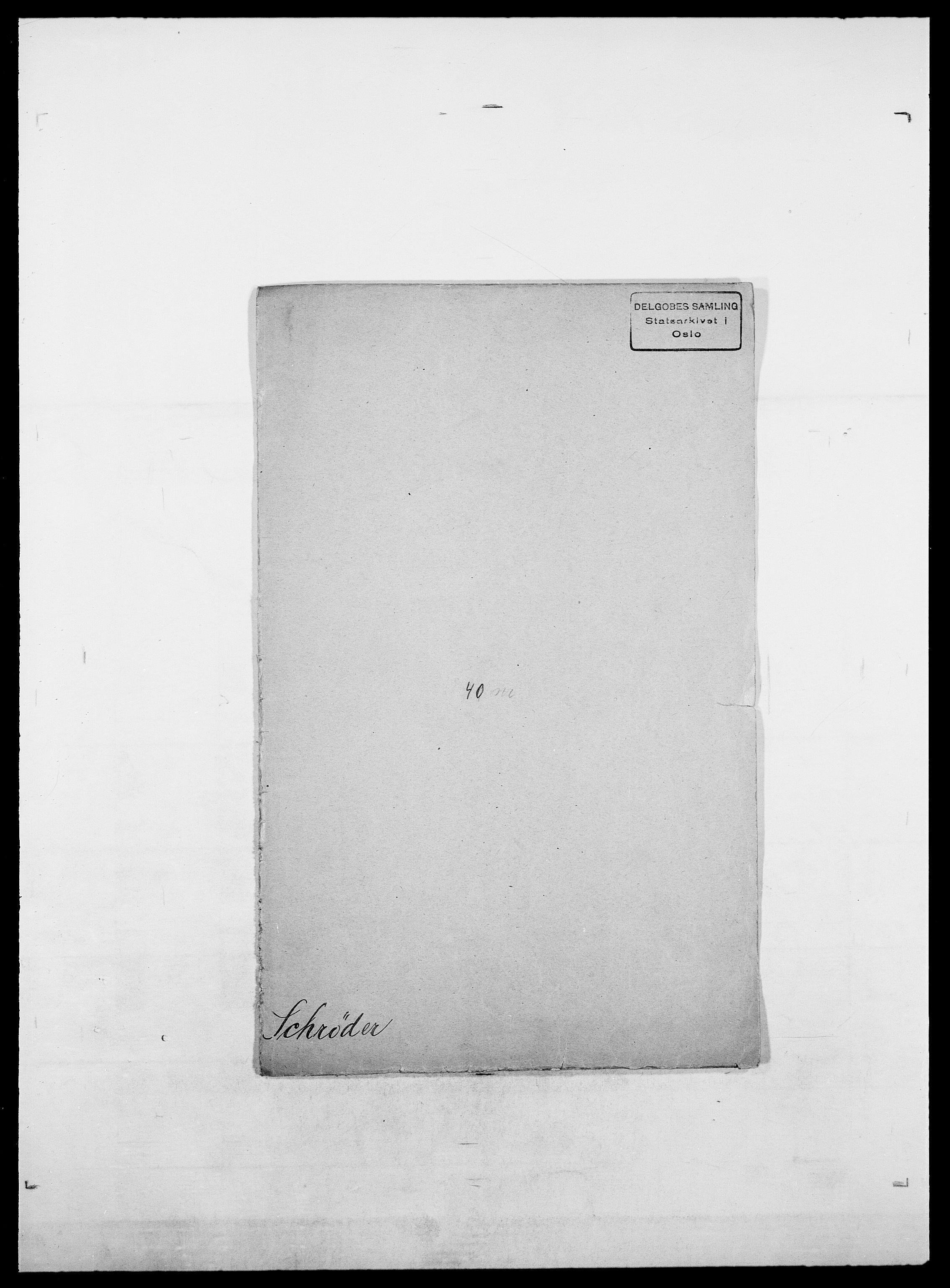SAO, Delgobe, Charles Antoine - samling, D/Da/L0035: Schnabel - sjetman, s. 186