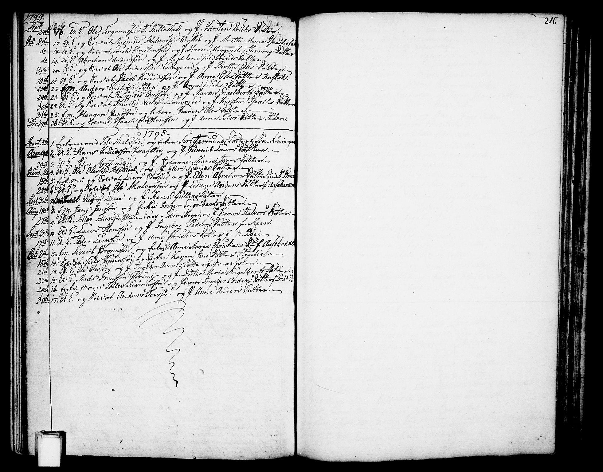 SAKO, Gjerpen kirkebøker, F/Fa/L0002: Ministerialbok nr. 2, 1747-1795, s. 203
