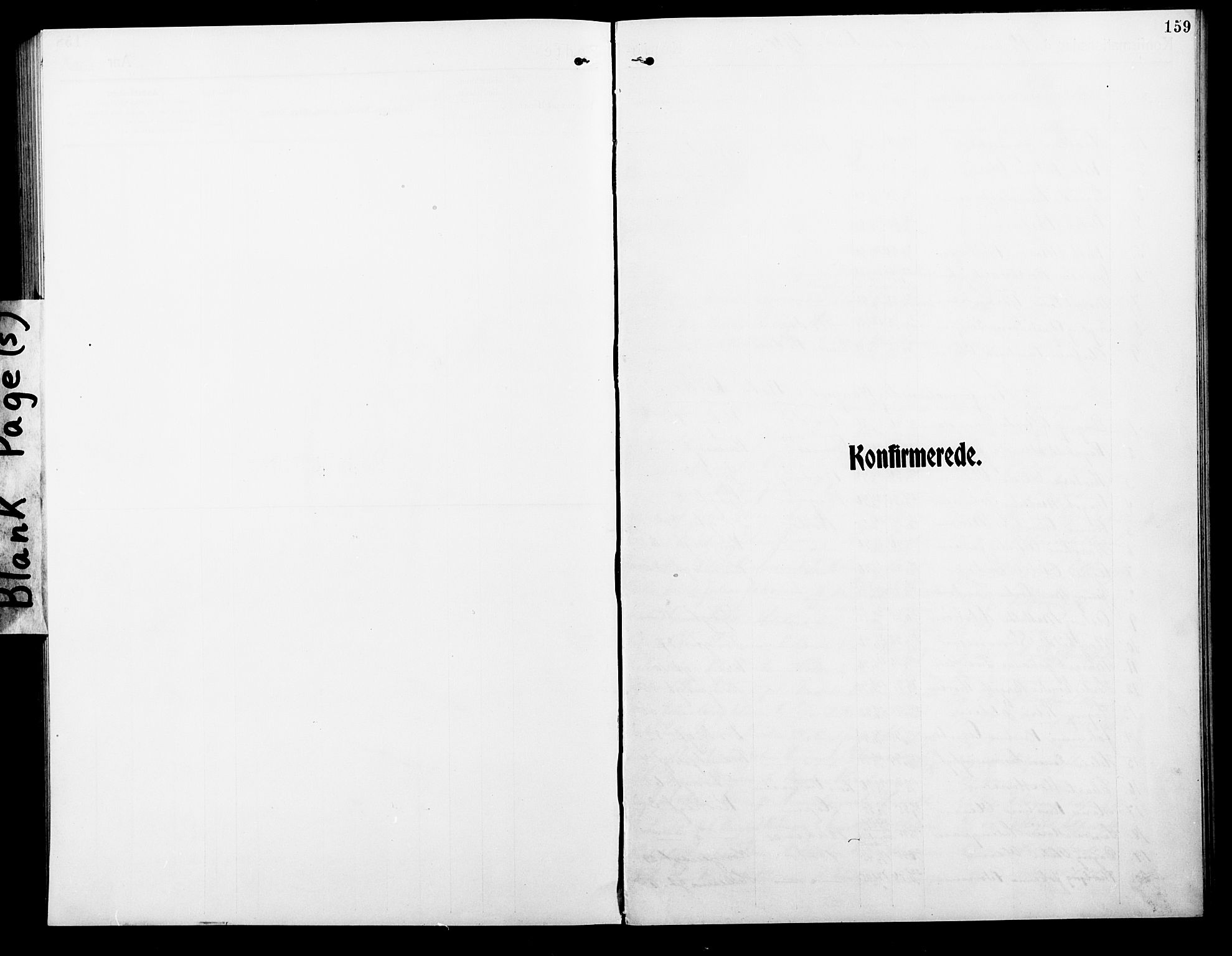 SAT, Ministerialprotokoller, klokkerbøker og fødselsregistre - Nordland, 801/L0034: Klokkerbok nr. 801C09, 1910-1922, s. 159