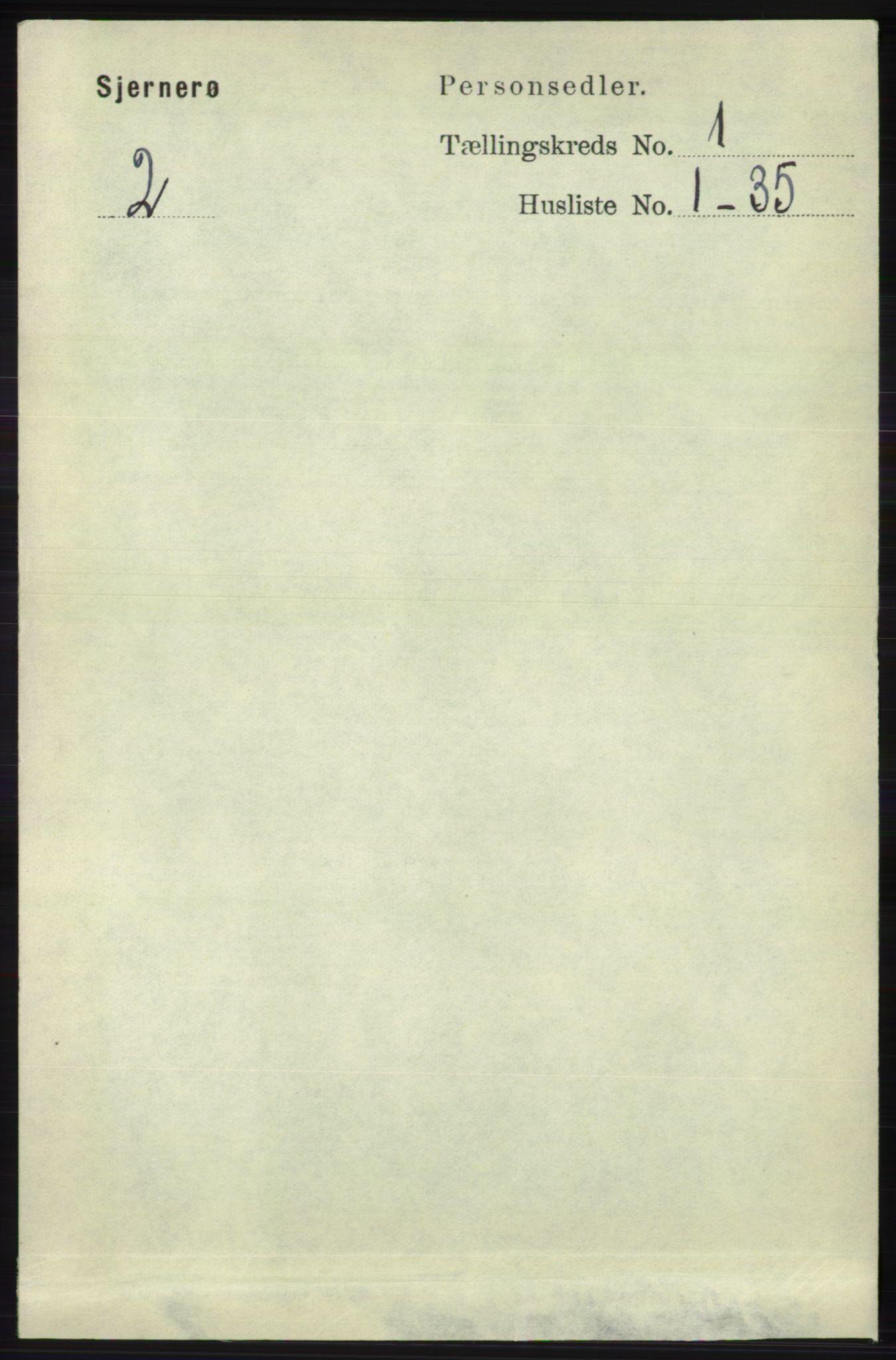 RA, Folketelling 1891 for 1140 Sjernarøy herred, 1891, s. 52