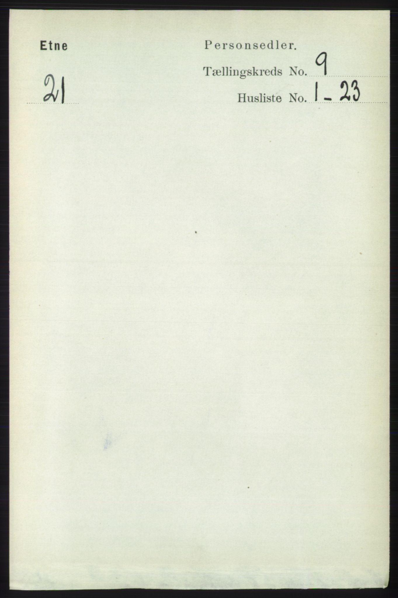 RA, Folketelling 1891 for 1211 Etne herred, 1891, s. 1713