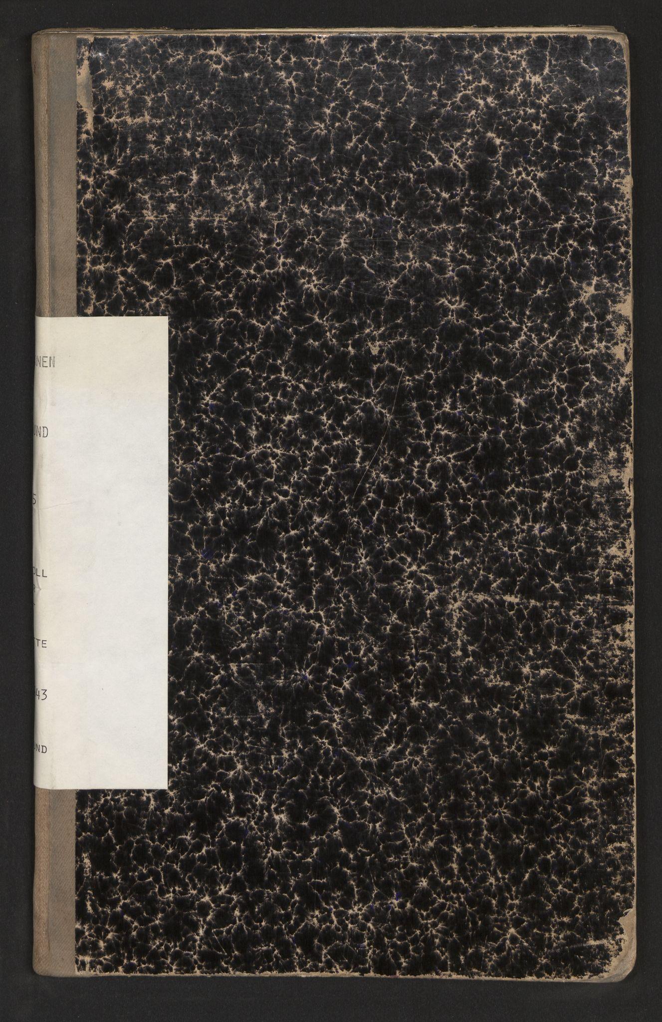 SAB, Lensmannen i Alversund, 0020/L0005: Protokoll over inn- og utflytte, Alversund, 1934-1943