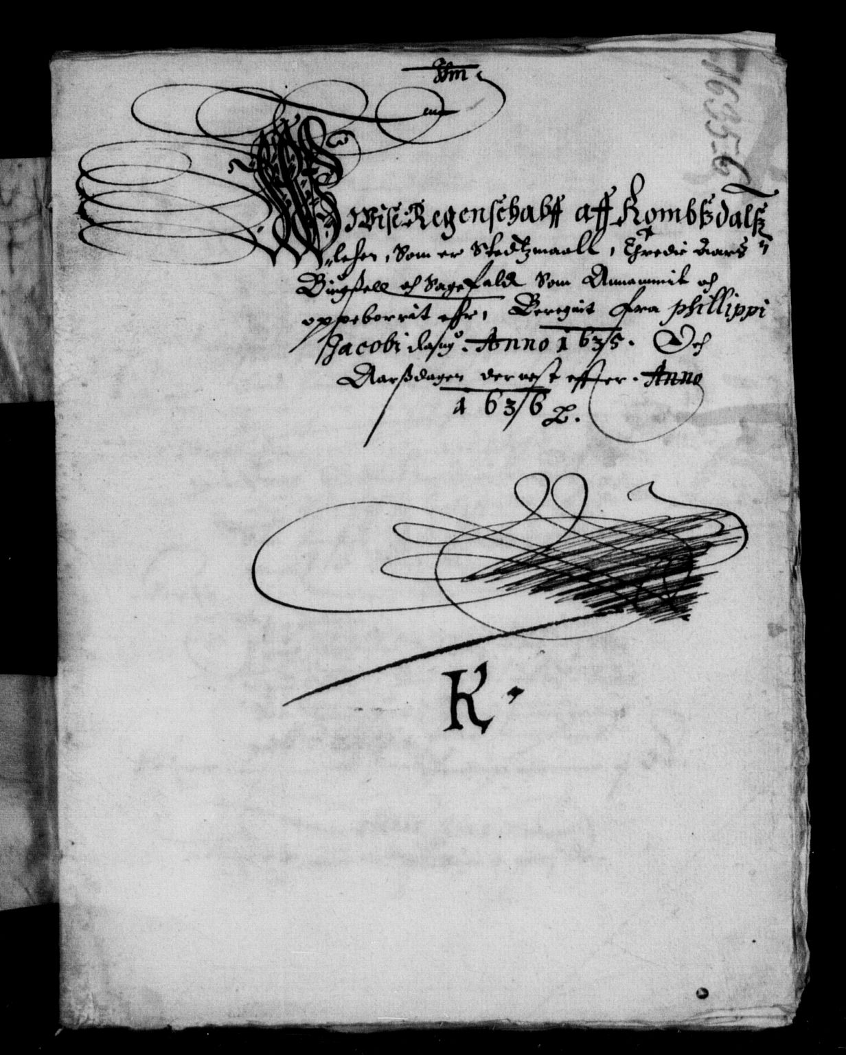 RA, Rentekammeret inntil 1814, Reviderte regnskaper, Lensregnskaper, R/Rb/Rbw/L0056: Trondheim len, 1634-1636