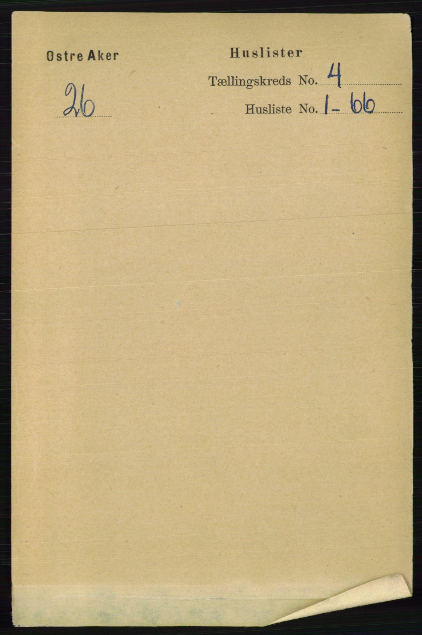 RA, Folketelling 1891 for 0218 Aker herred, 1891, s. 3856